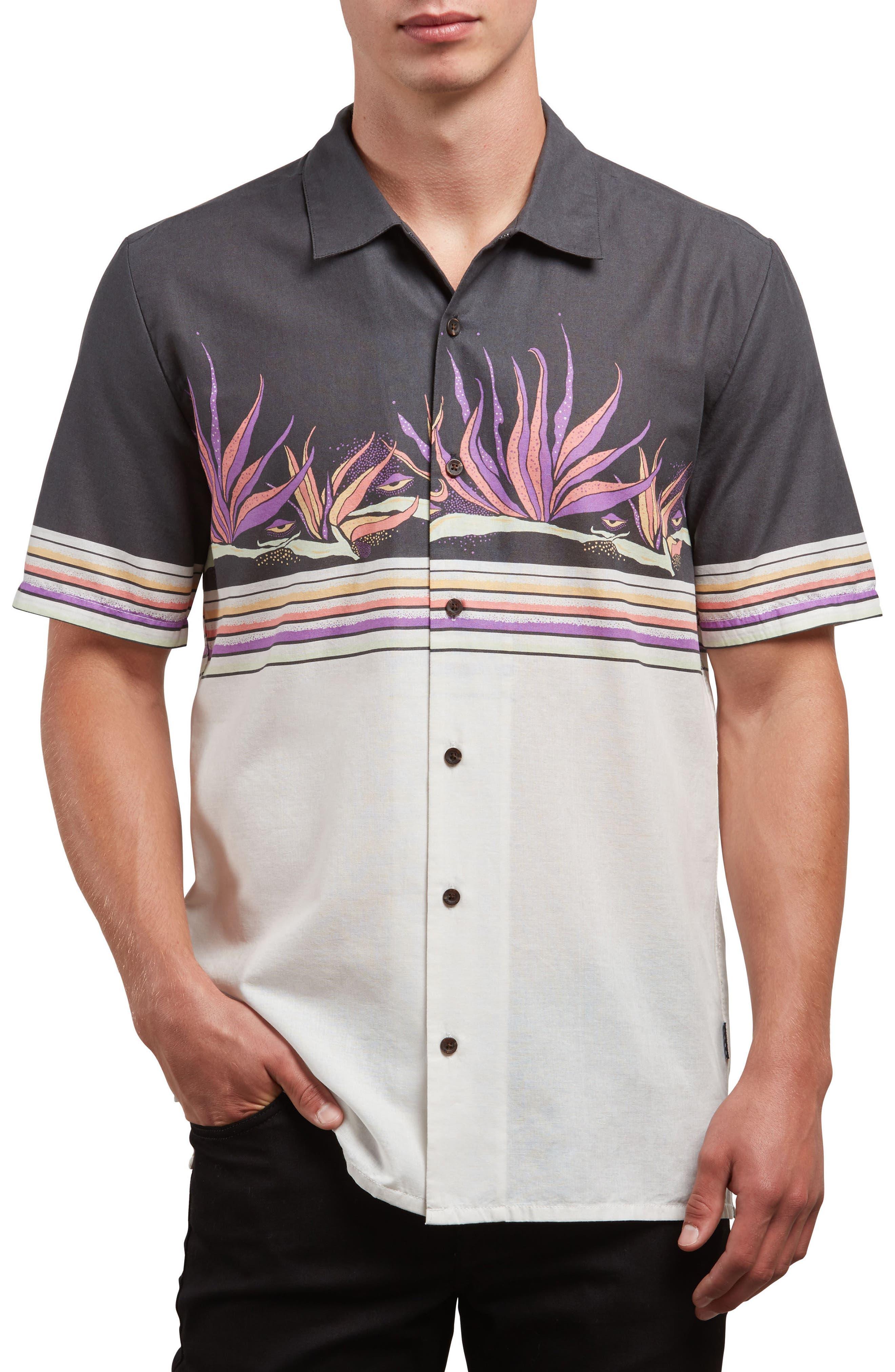 Algar Woven Shirt,                         Main,                         color, White Flash
