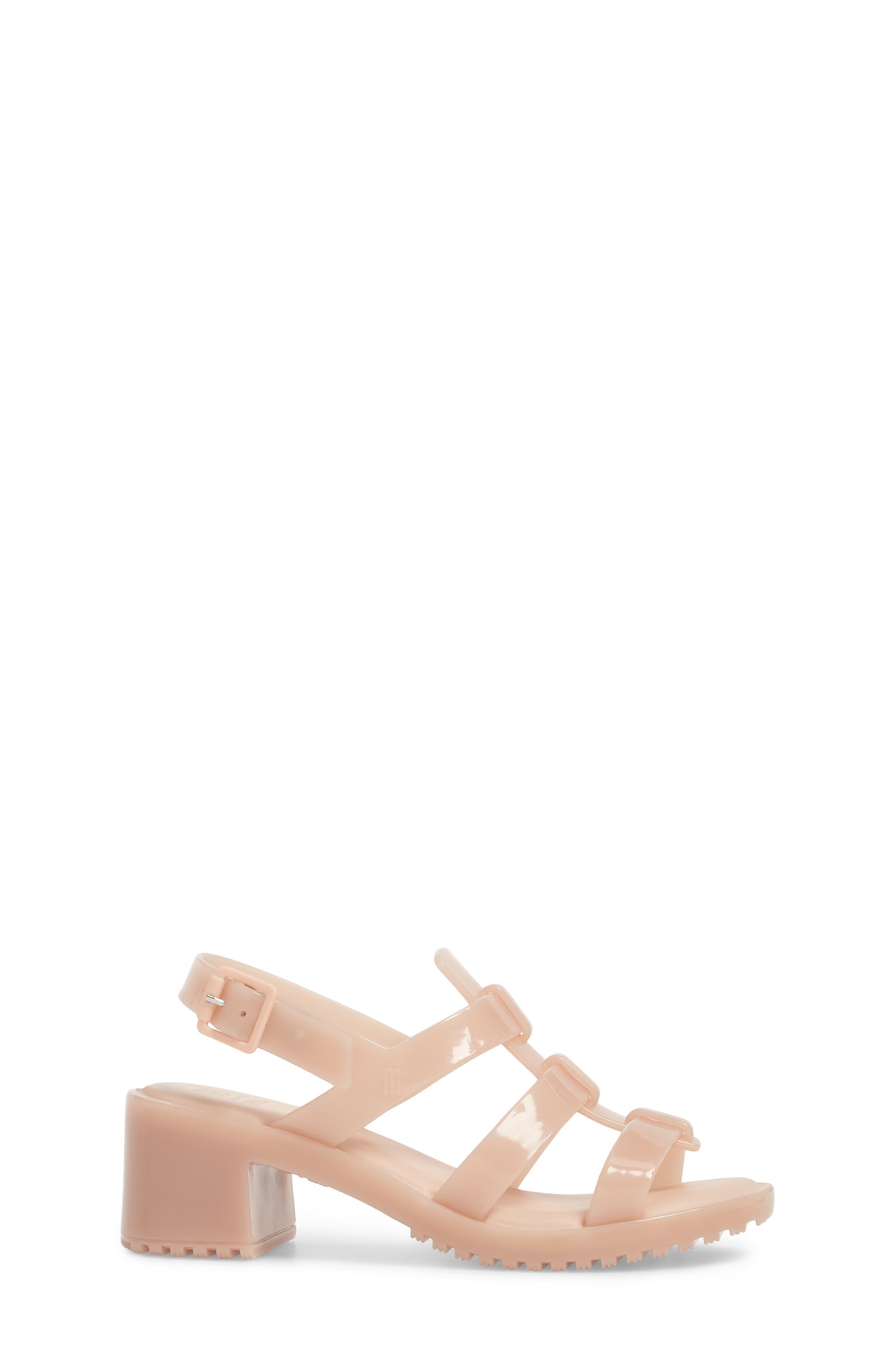 'Flox' Sandal,                             Alternate thumbnail 3, color,                             Light Pink Matte