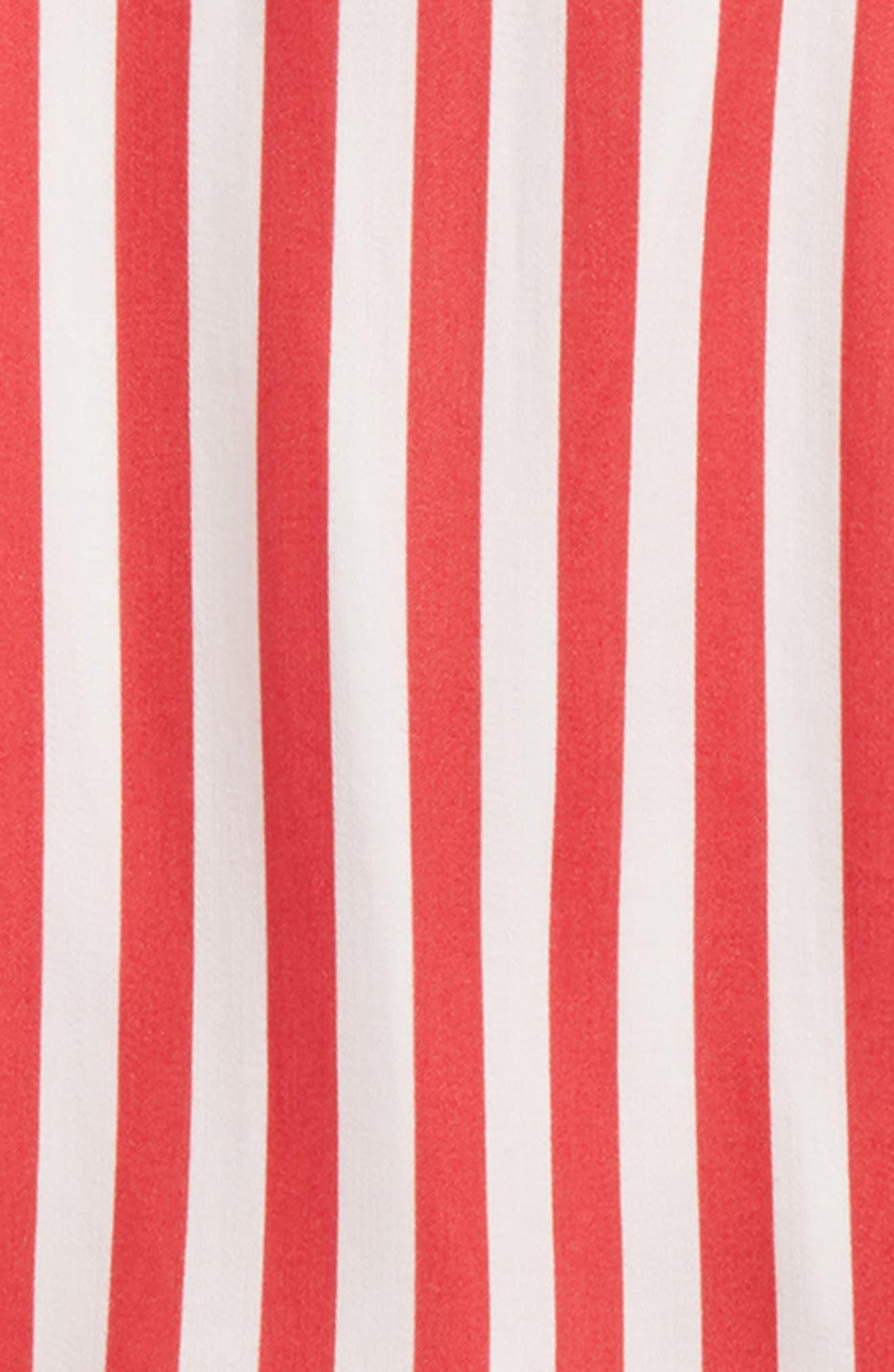 Eve Cold Shoulder Top,                             Alternate thumbnail 2, color,                             Lollipop Stripe