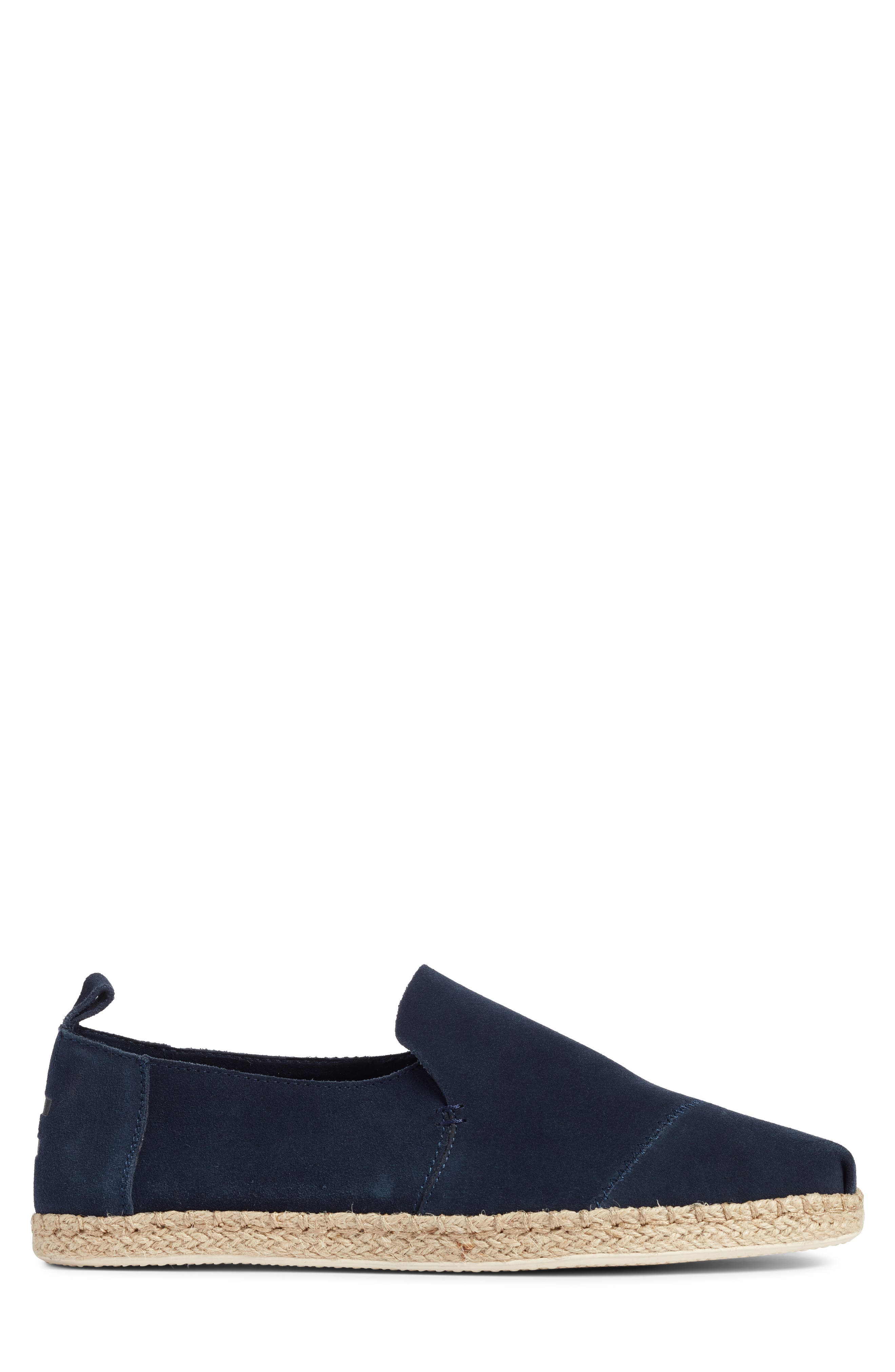Deconstructed Alpargata,                             Alternate thumbnail 3, color,                             Navy Suede