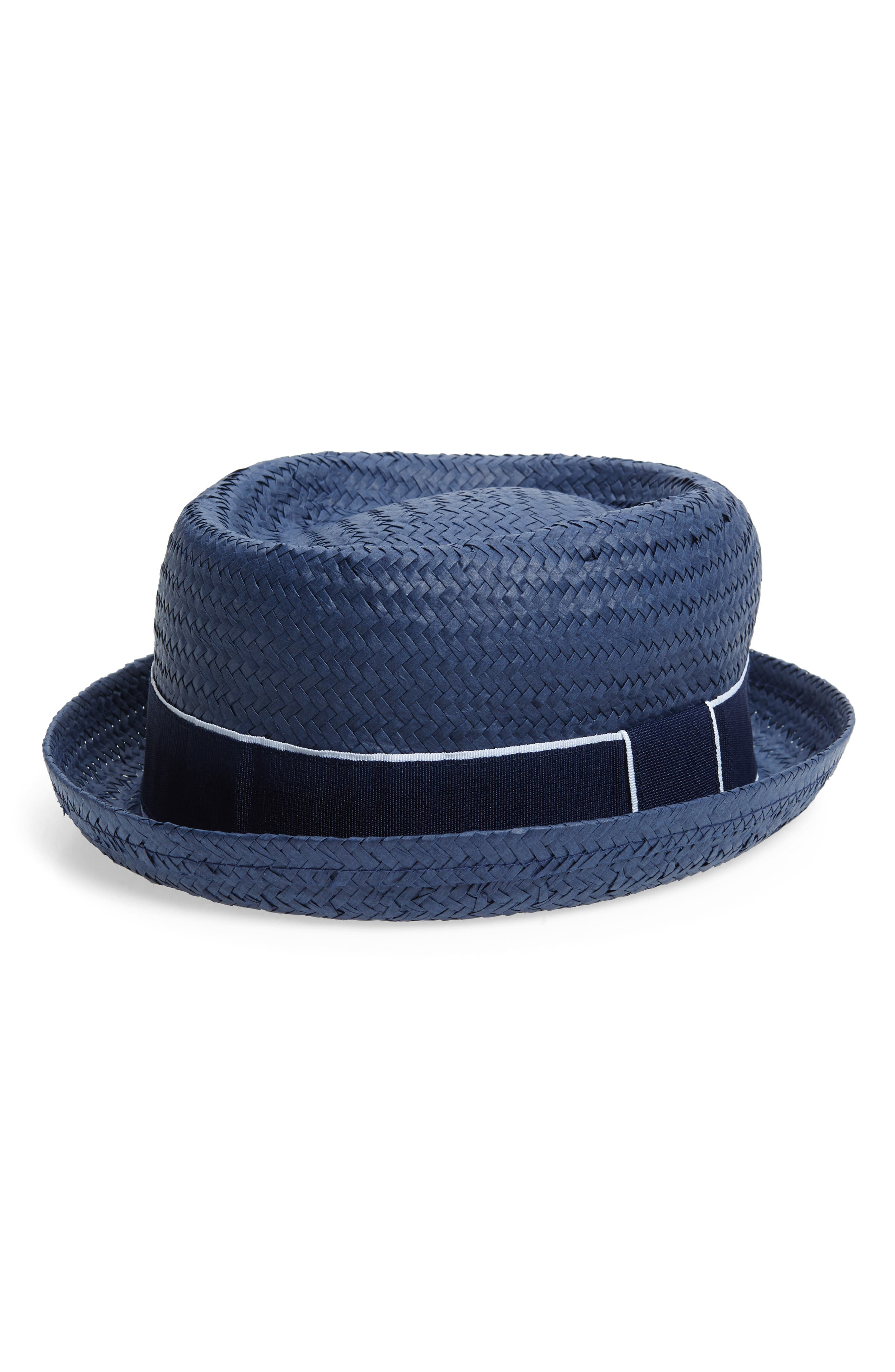 FITS Straw Boater Hat