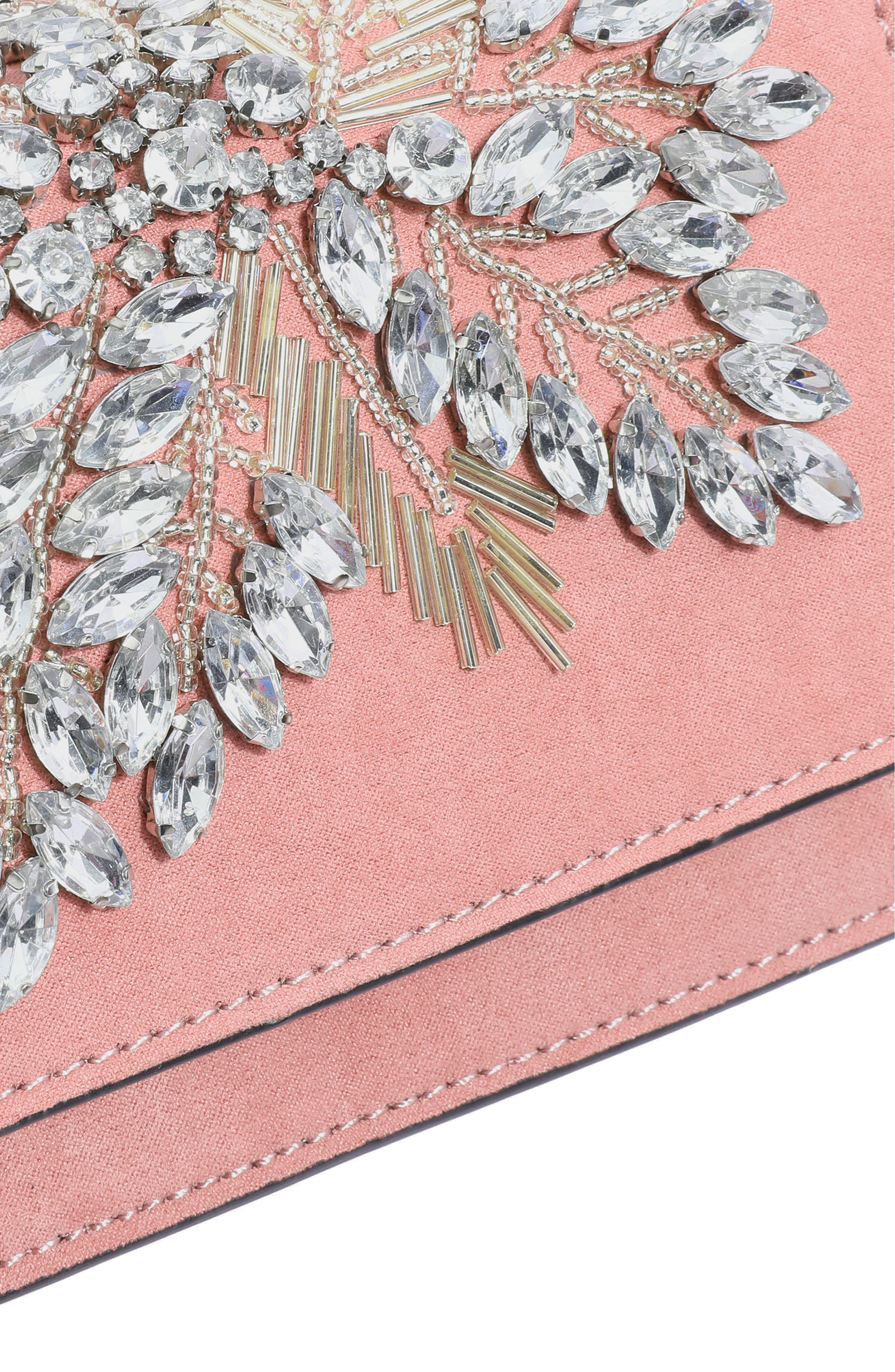 Ophira Sparkle Bead Crossbody,                             Alternate thumbnail 11, color,                             Pink Multi