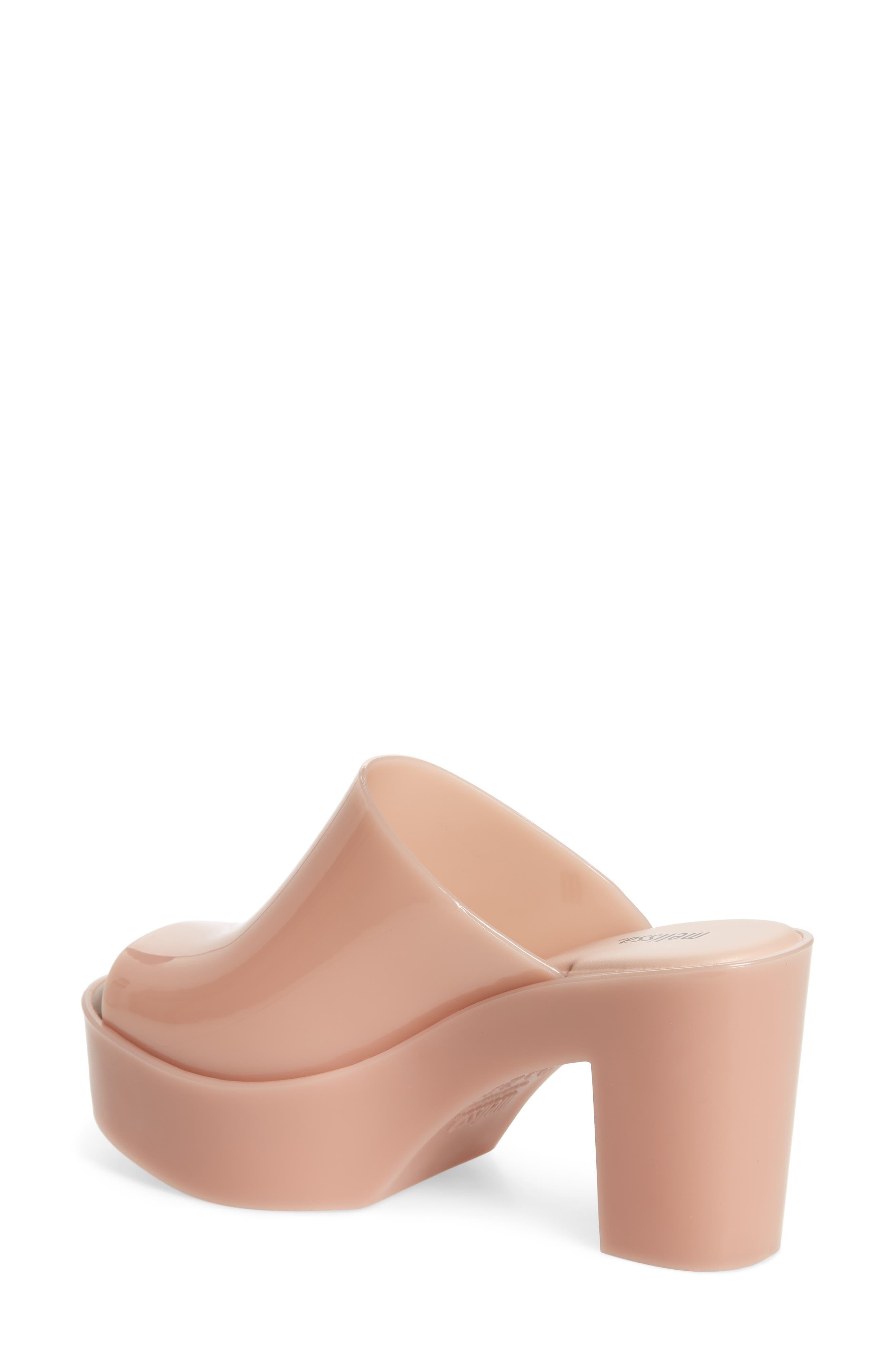 Open Toe Platform Mule,                             Alternate thumbnail 2, color,                             Light Pink