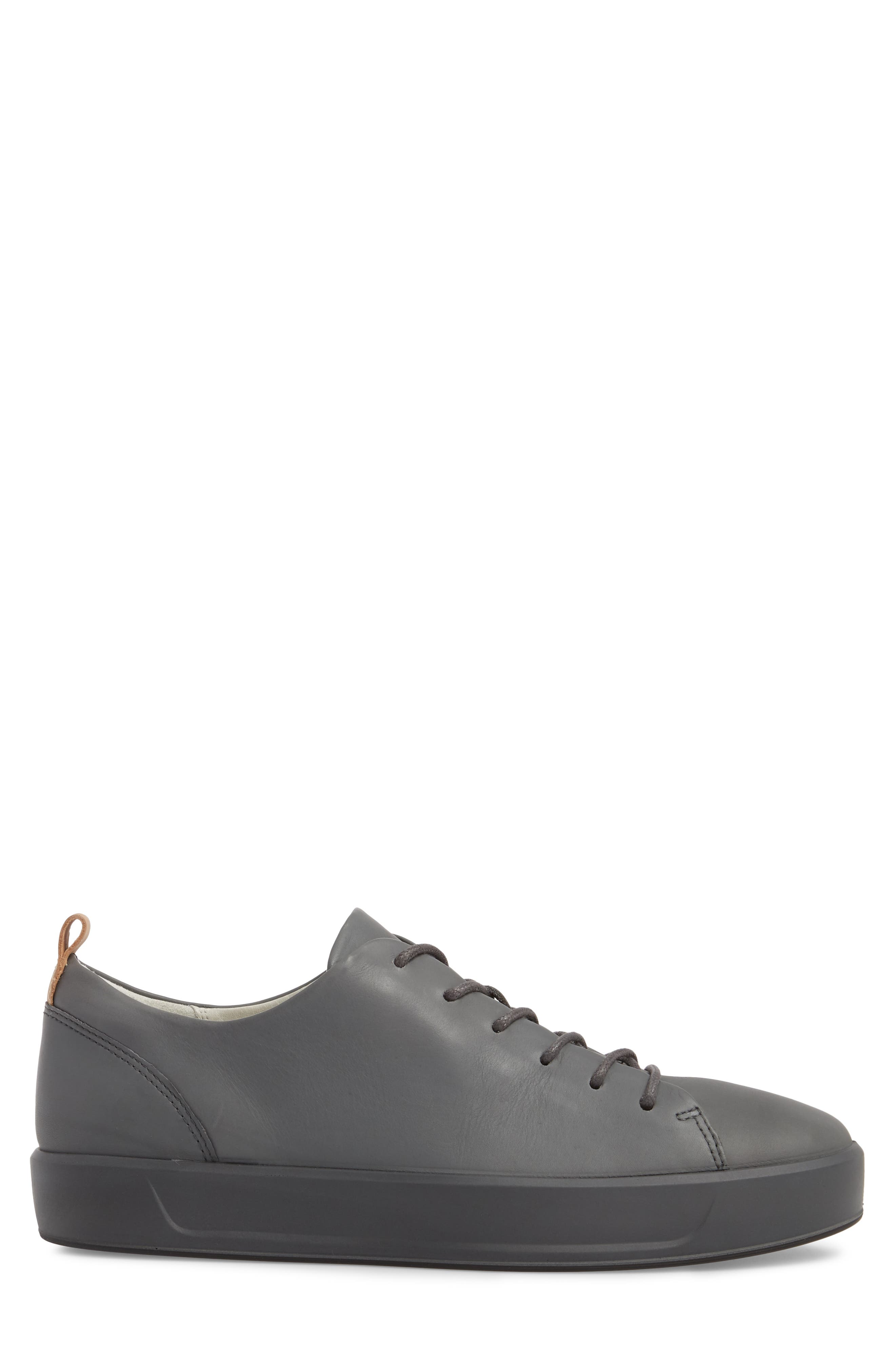 Soft 8 Low Top Sneaker,                             Alternate thumbnail 3, color,                             Urban Grey Leather