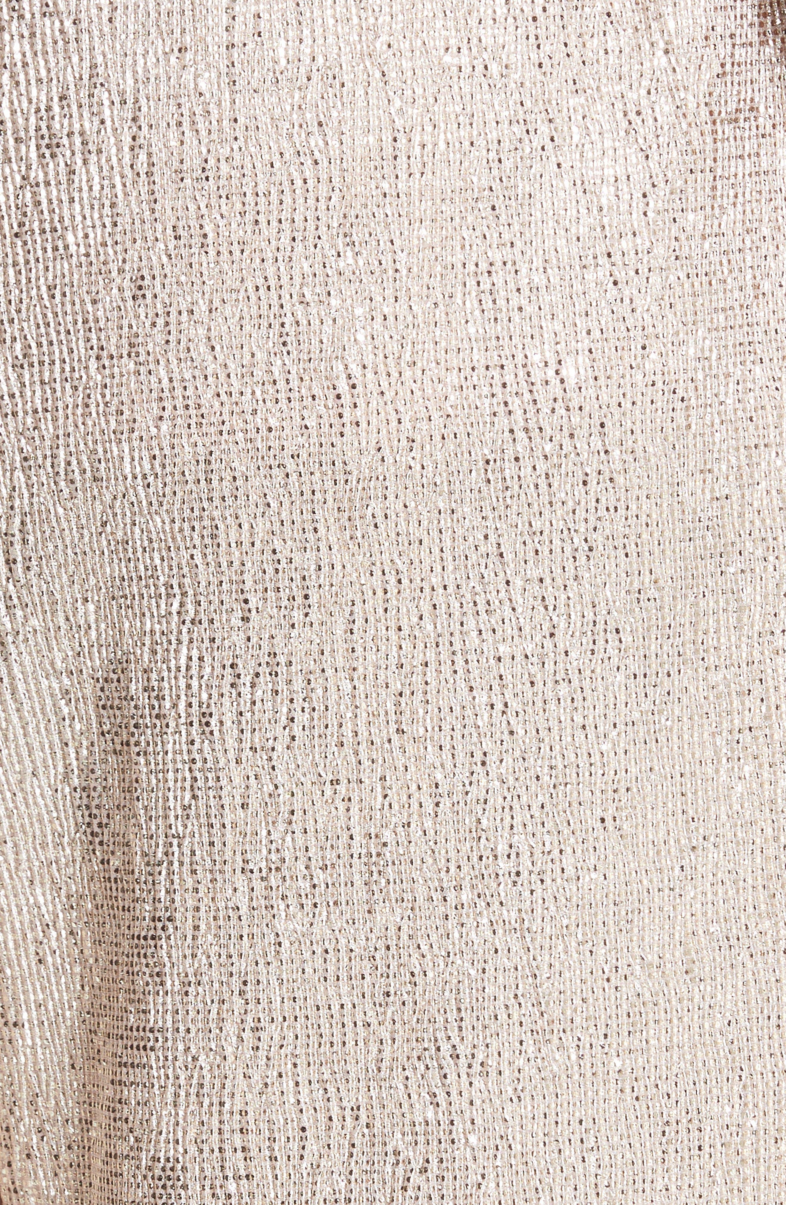 Elba Textured Crepe Wide Leg Pants,                             Alternate thumbnail 5, color,                             Blush