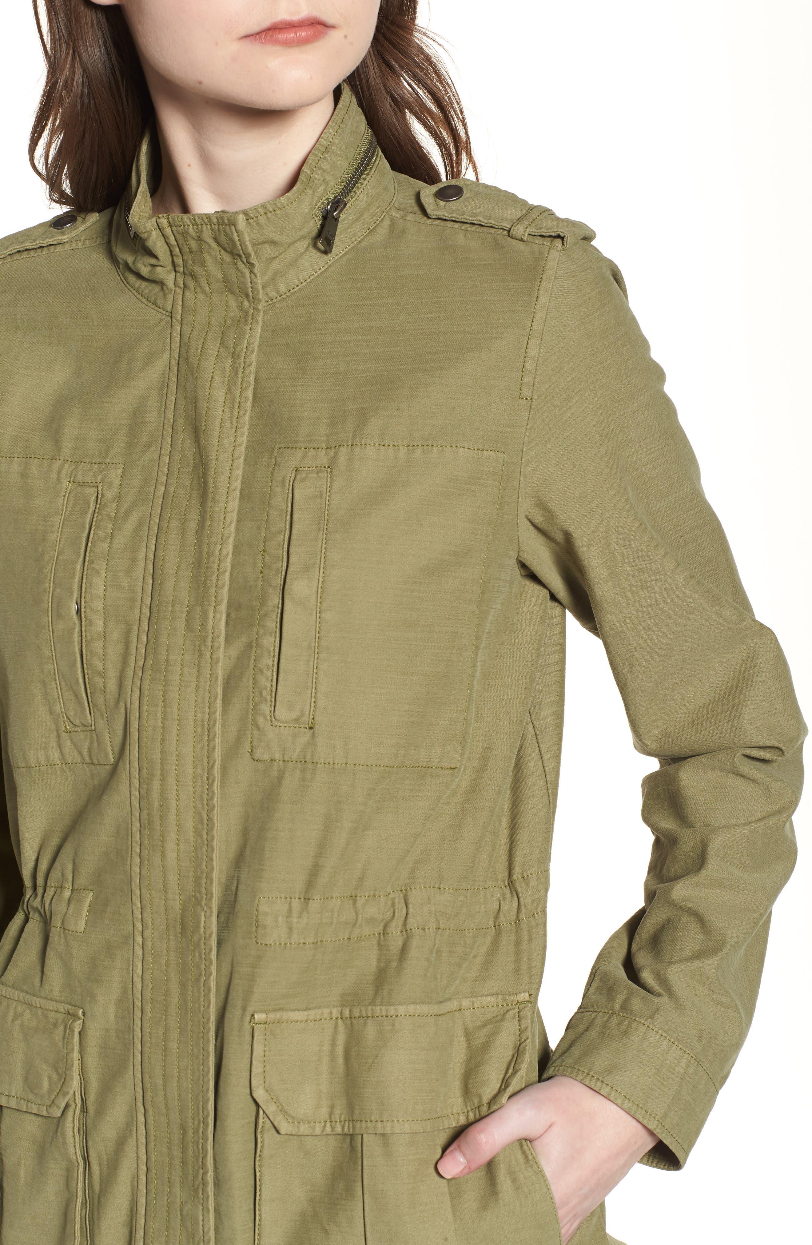 Alternate Image 4  - Levi's® Cotton 4-Pocket Jacket (Regular & Petite)