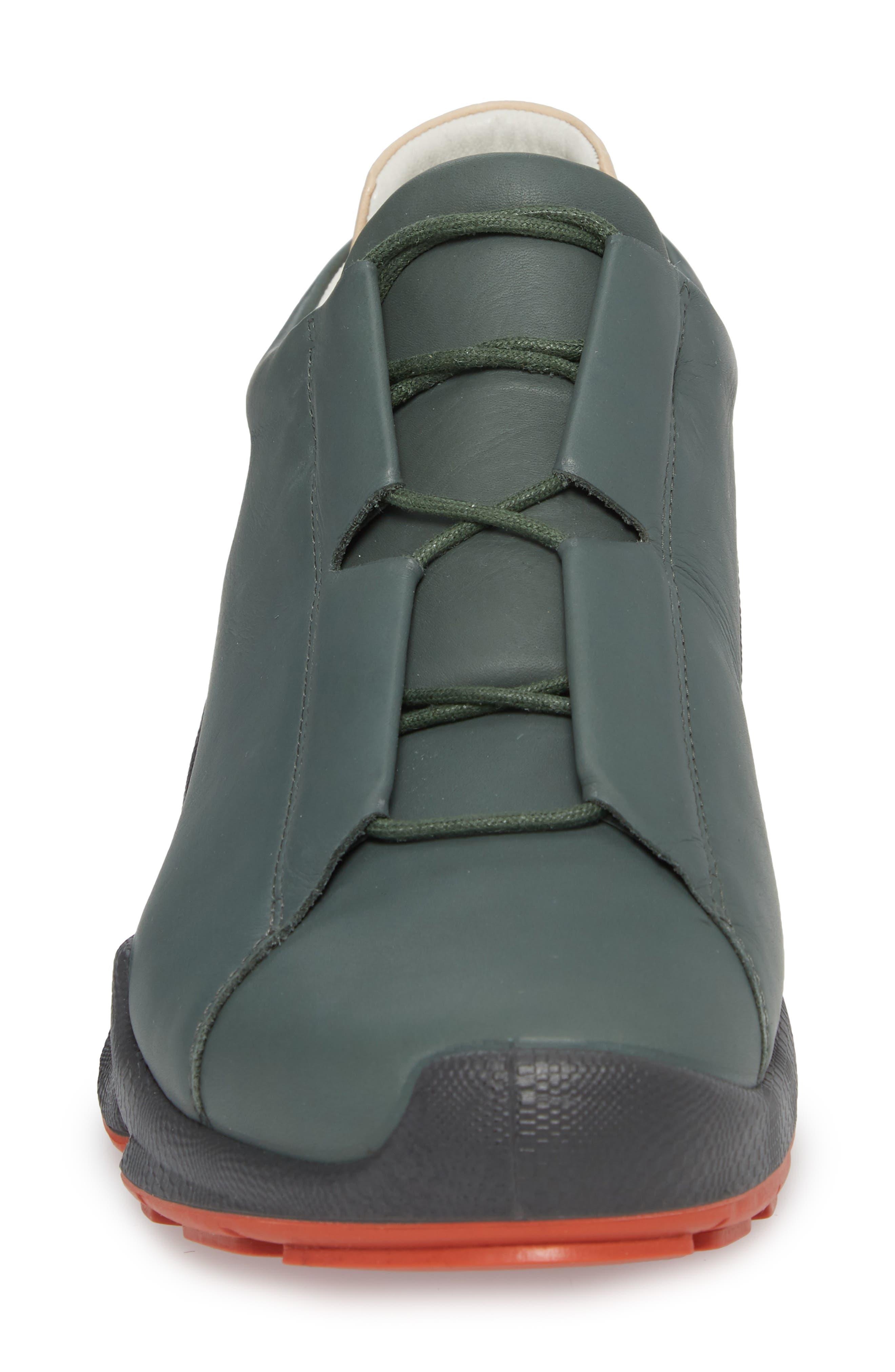 BIOM C Low Top Sneaker,                             Alternate thumbnail 3, color,                             Military Sage Leather