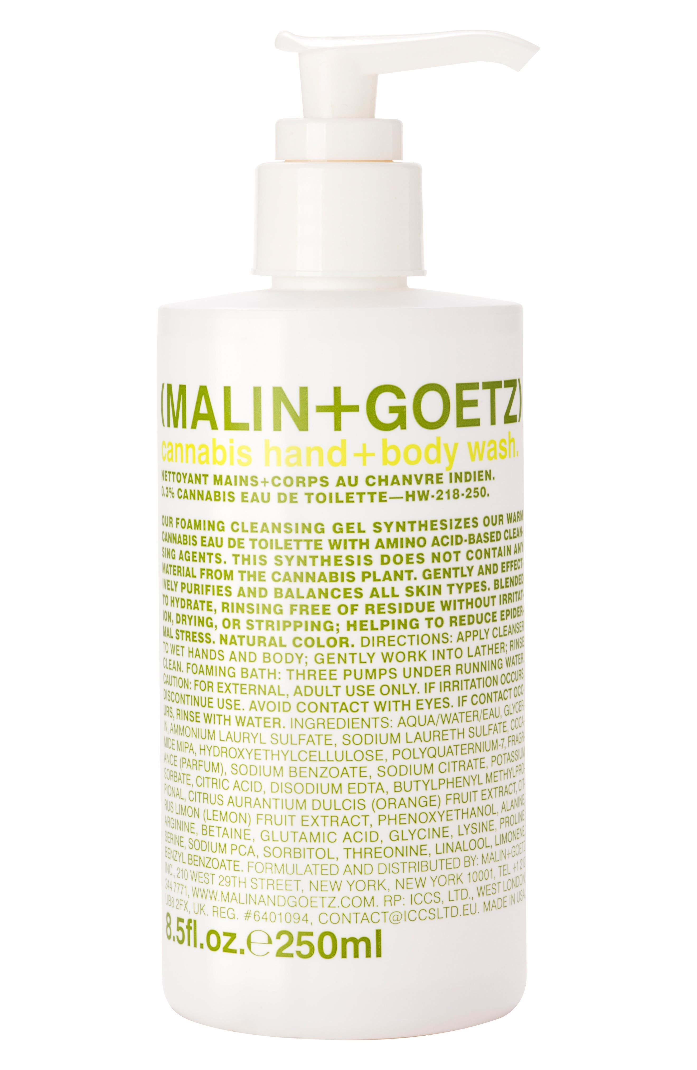 MALIN+GOETZ Cannabis Hand & Body Wash