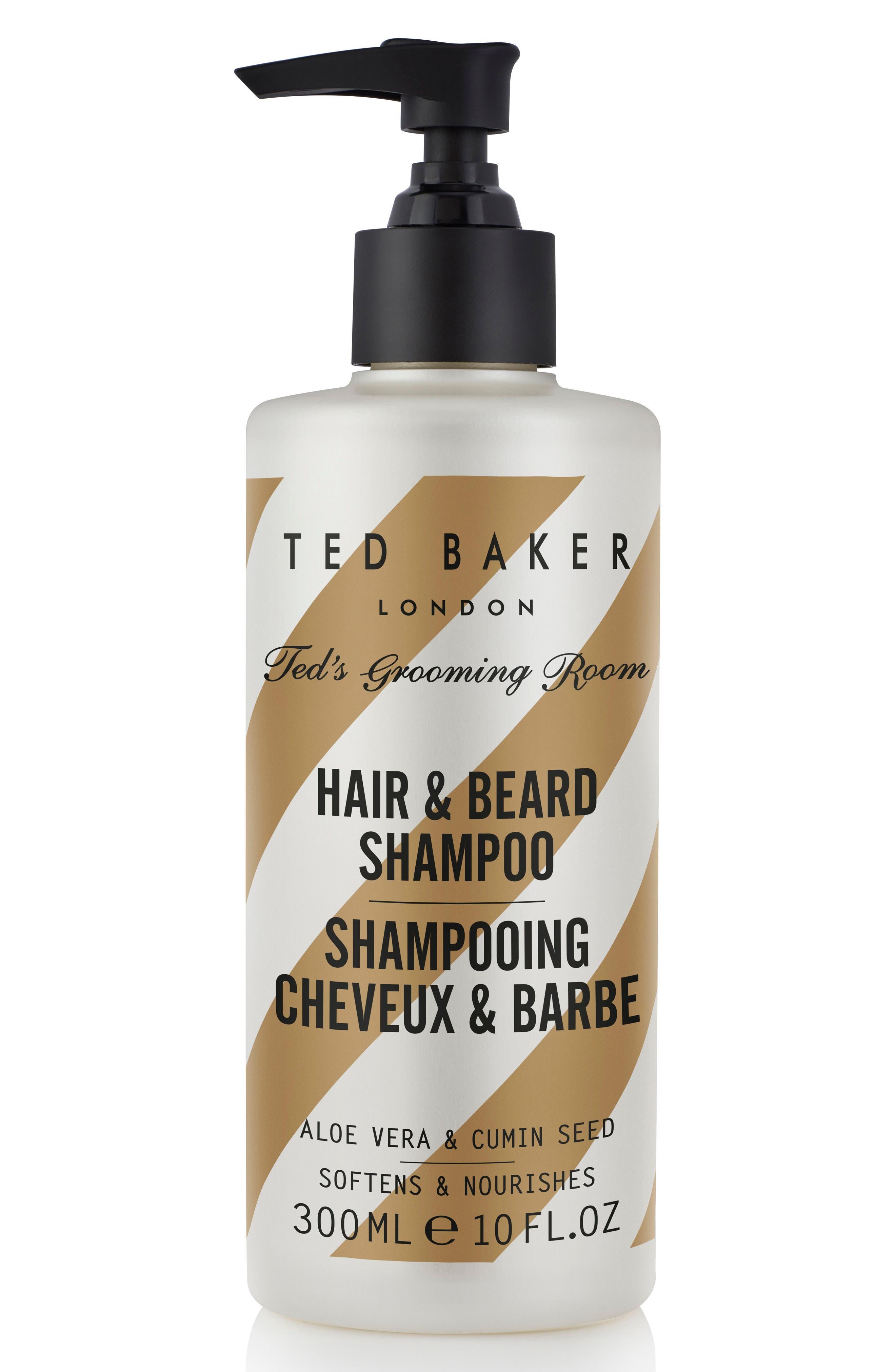 Ted's Grooming Room Hair & Beard Shampoo,                             Main thumbnail 1, color,                             No Color