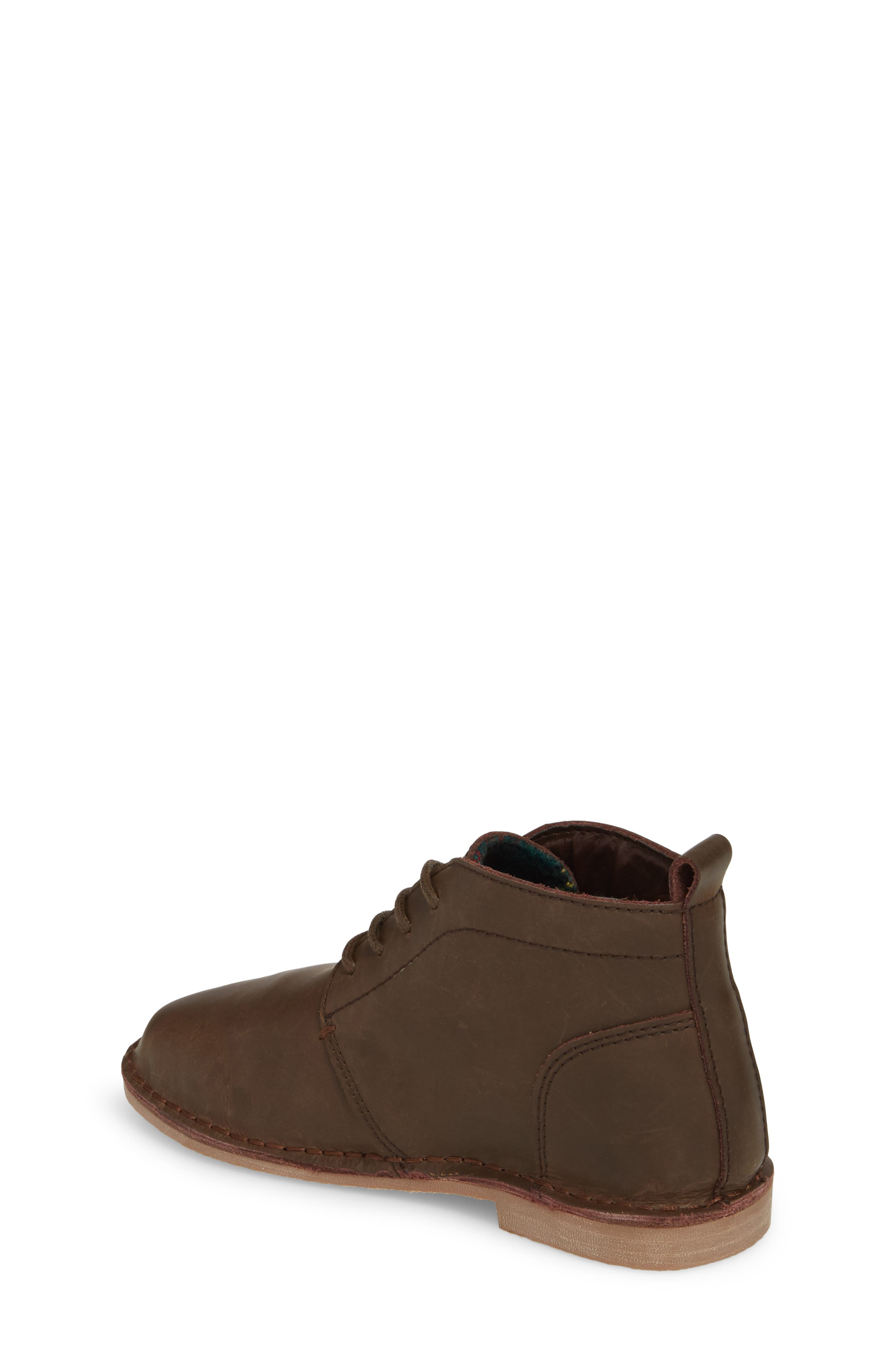 Finley Boot,                             Alternate thumbnail 2, color,                             Chocolate Leather
