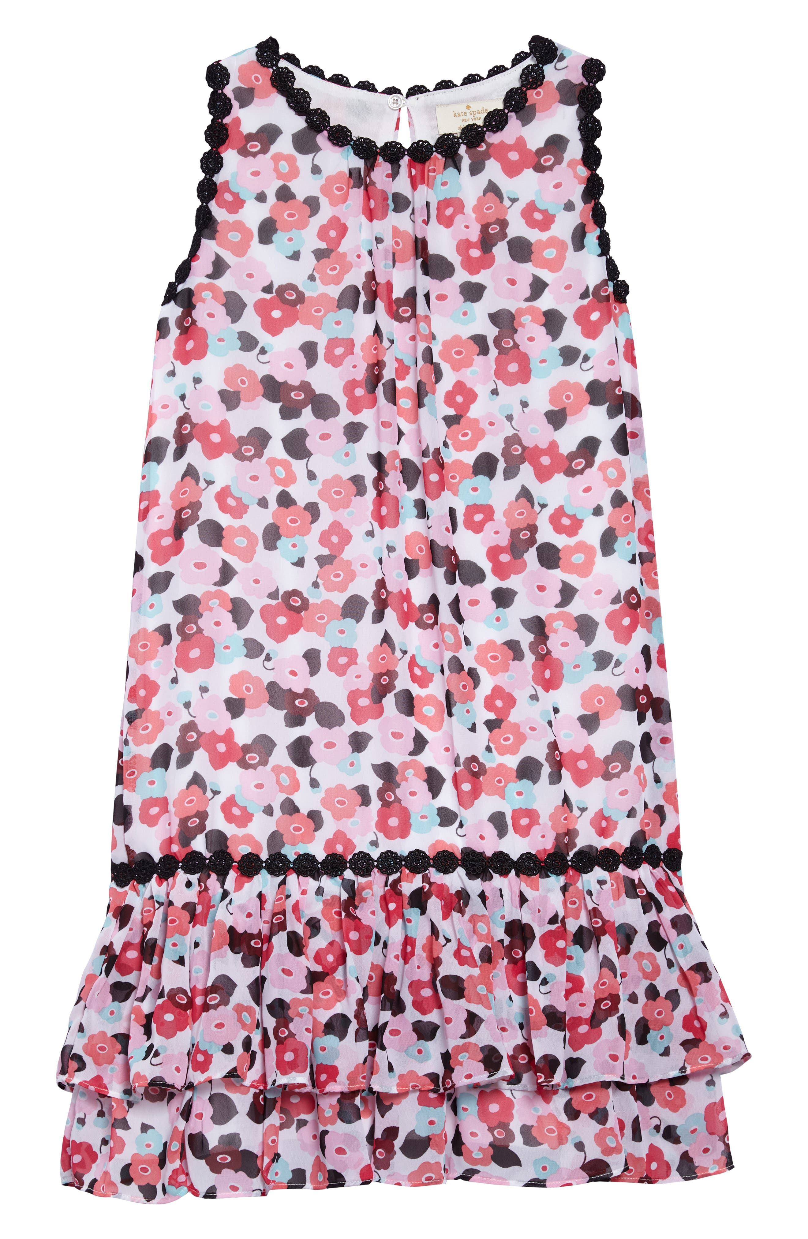 blooming floral dress,                         Main,                         color, Blooming Floral