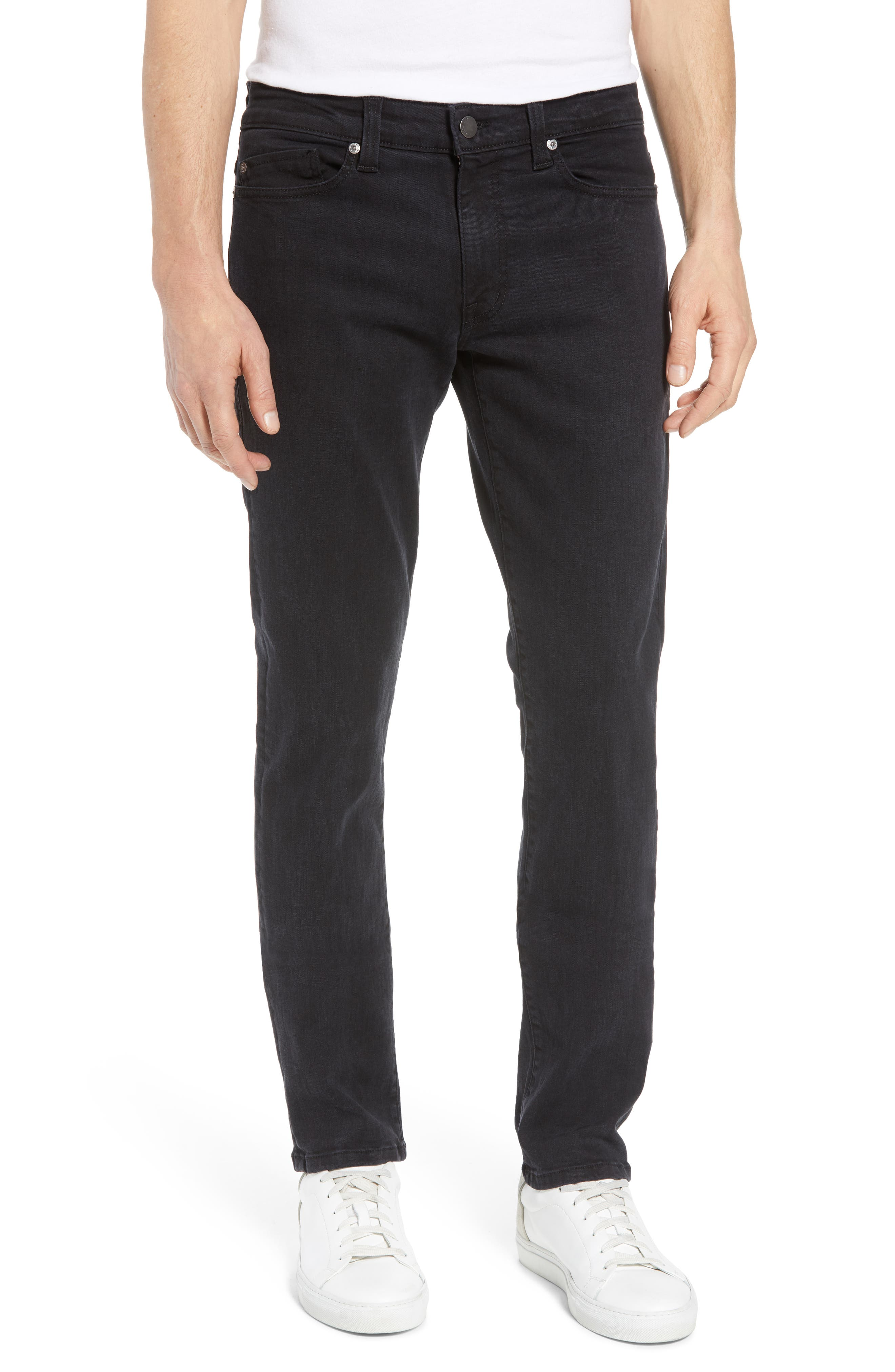 Fidelity Denim Torino Slim Fit Jeans (Blackbird)