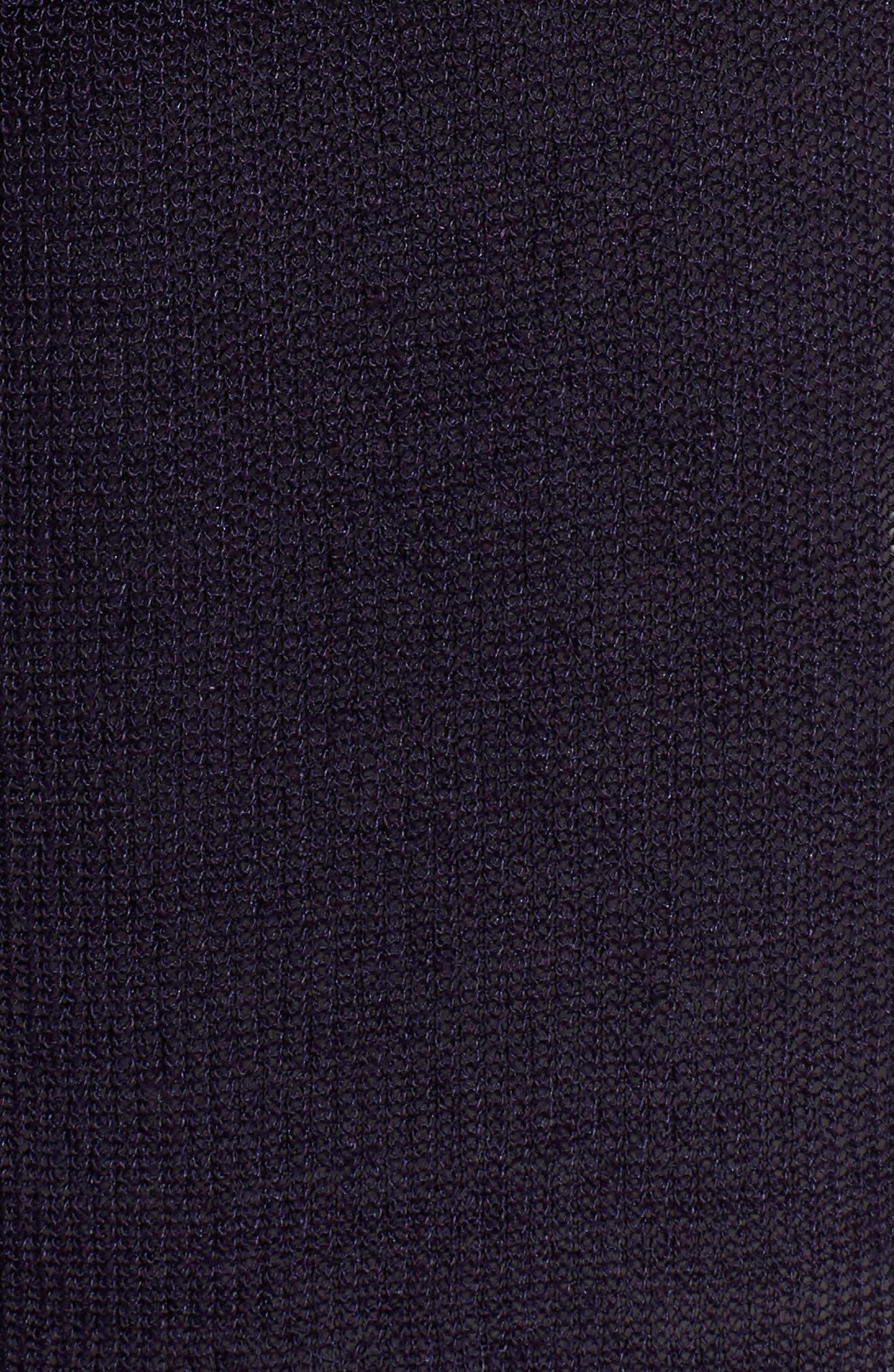 Long Organic Linen Blend Kimono Cardigan,                             Alternate thumbnail 3, color,                             Salt Lake