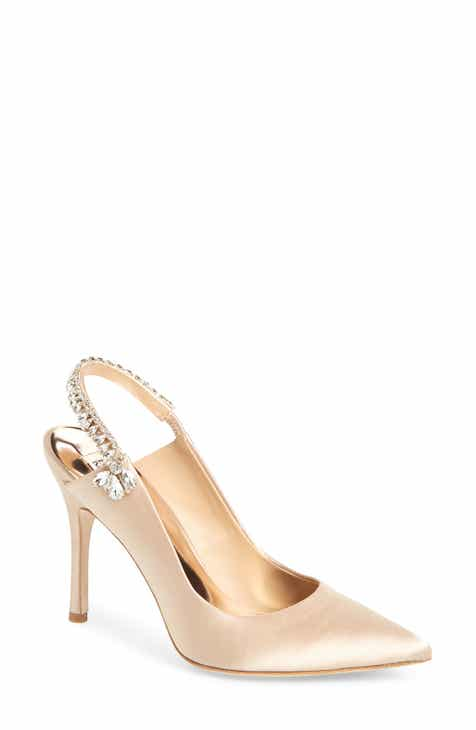 dddfcceed146 Badgley Mischka Paxton Pointy Toe Slingback Pump (Women)