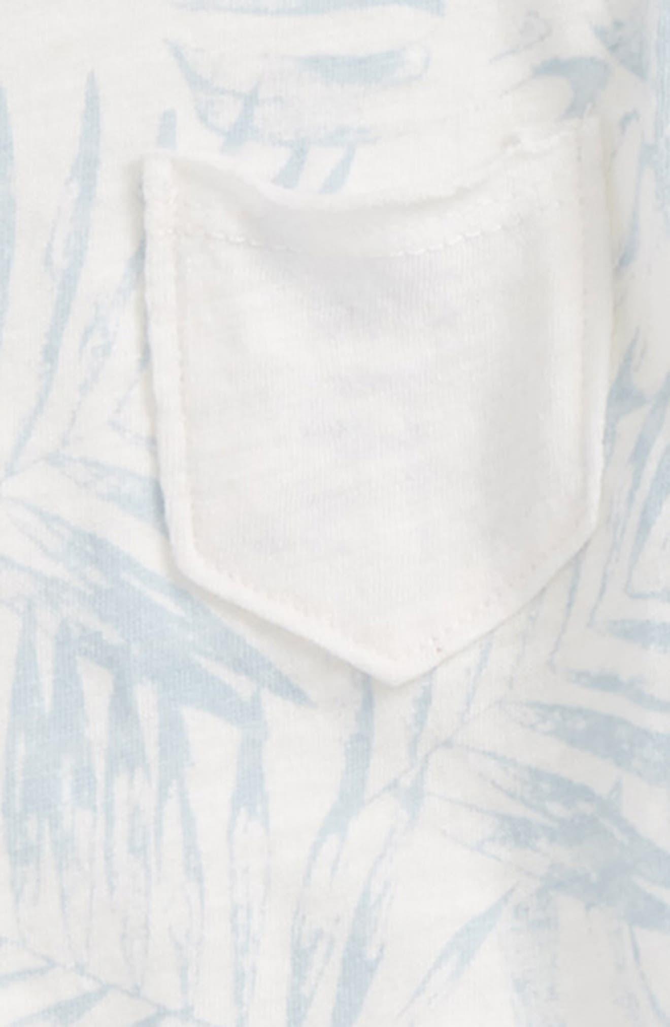 Pocket T-Shirt & Shorts Set,                             Alternate thumbnail 2, color,                             Full Sail