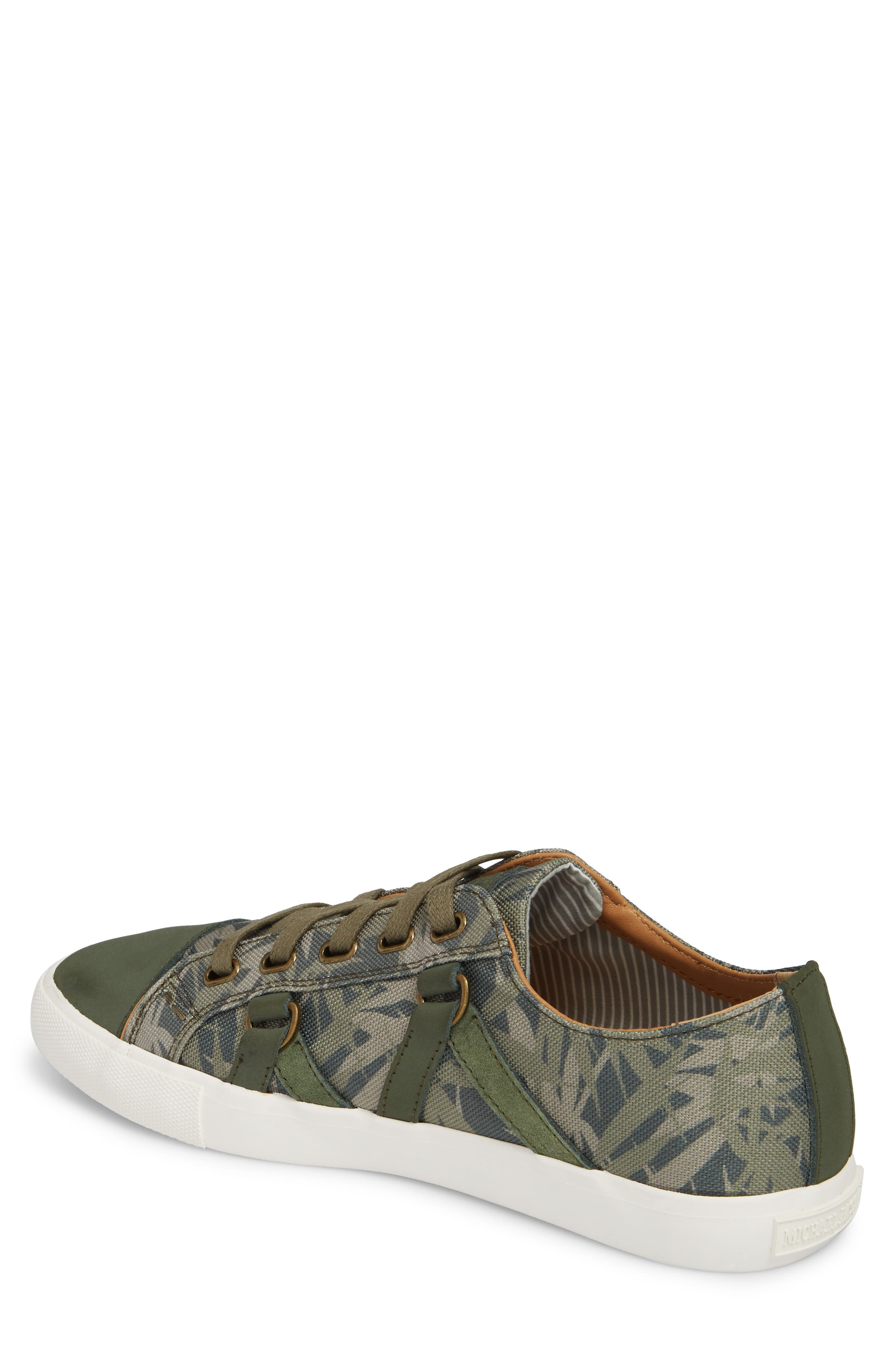 Signature Low Top Sneaker,                             Alternate thumbnail 2, color,                             Bamboo Canvas