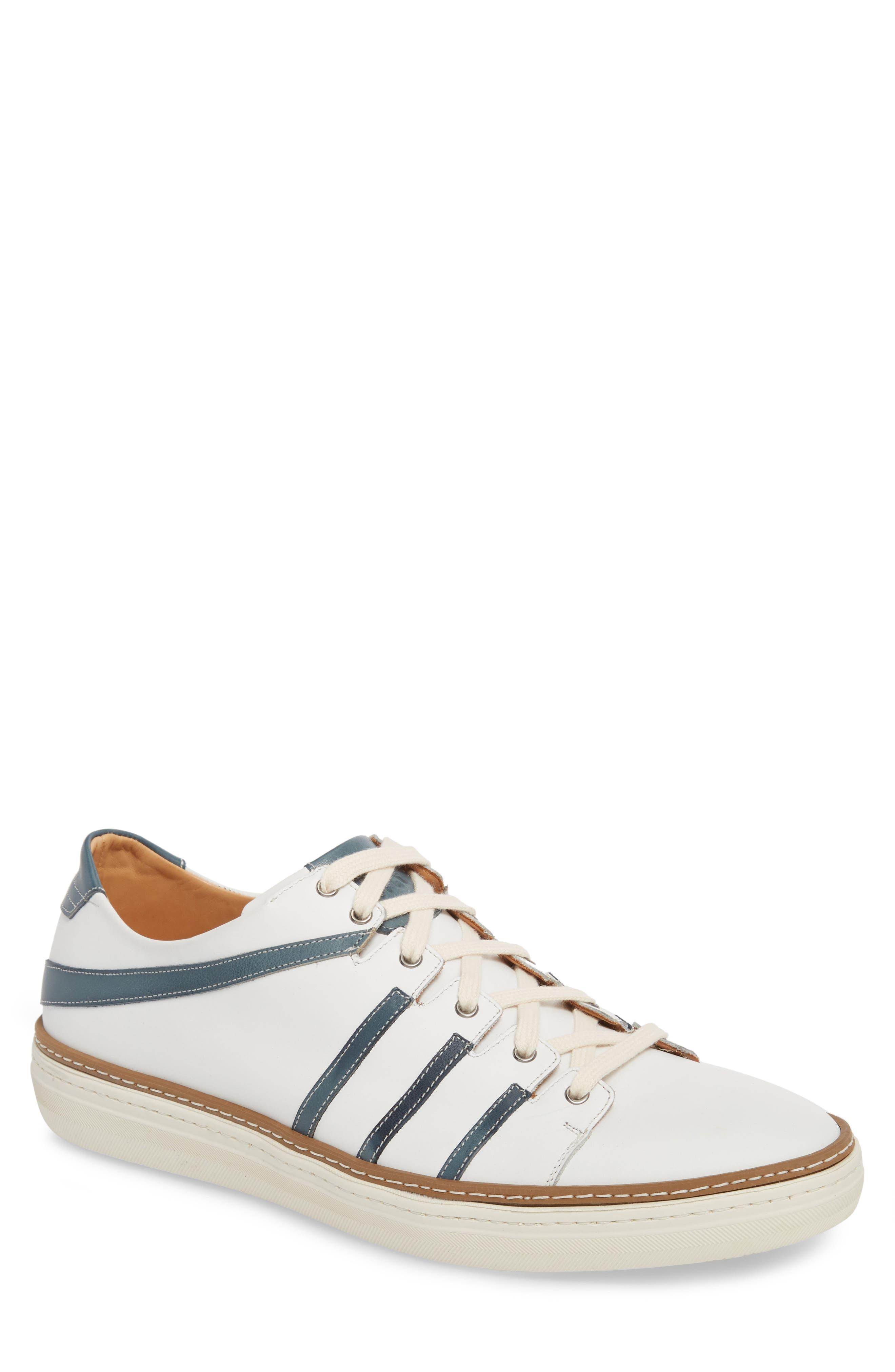 Mezlan Tebas Striped Low Top Sneaker (Men)