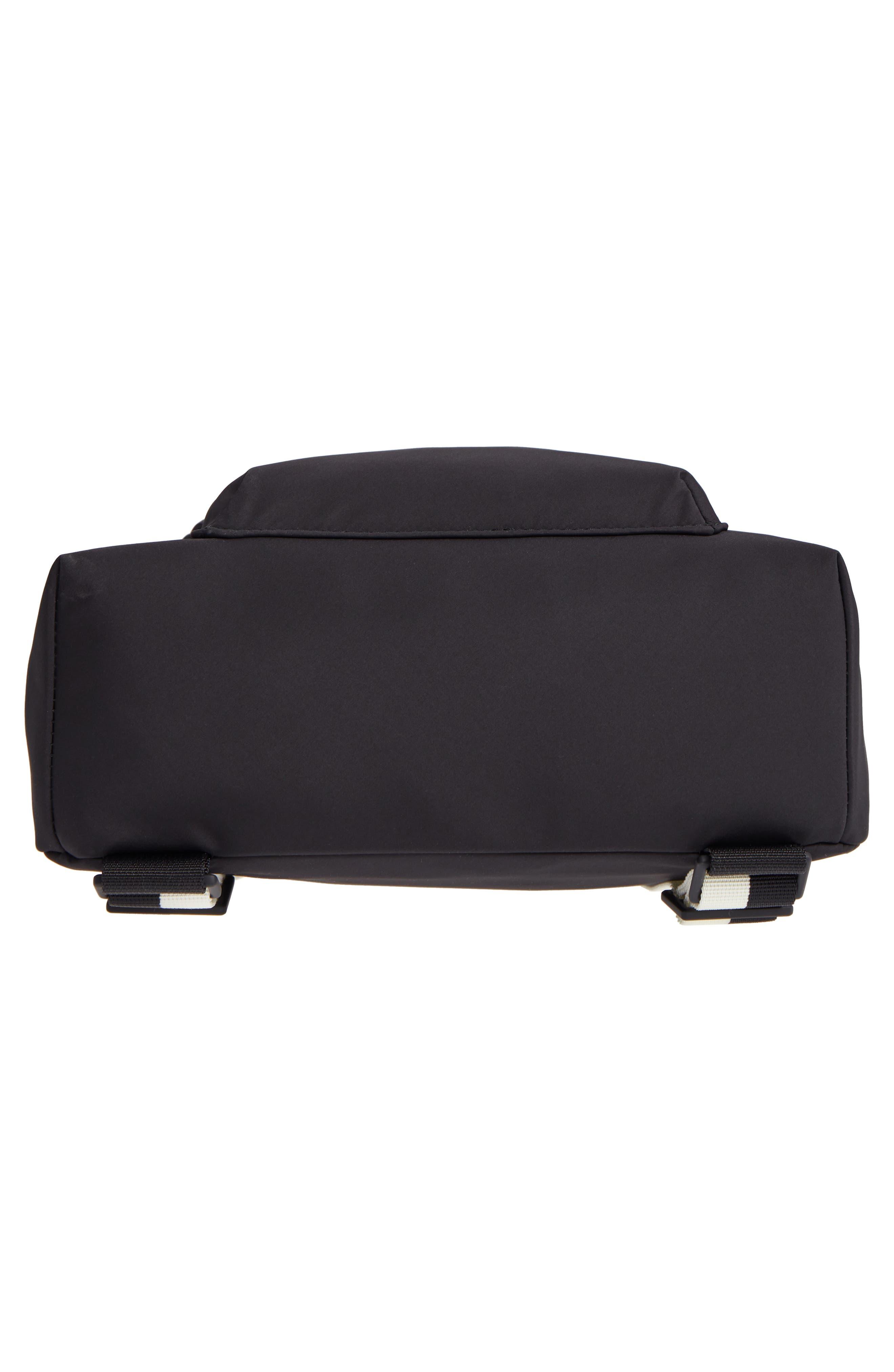 that's the spirit mini nylon convertible backpack,                             Alternate thumbnail 7, color,                             Black
