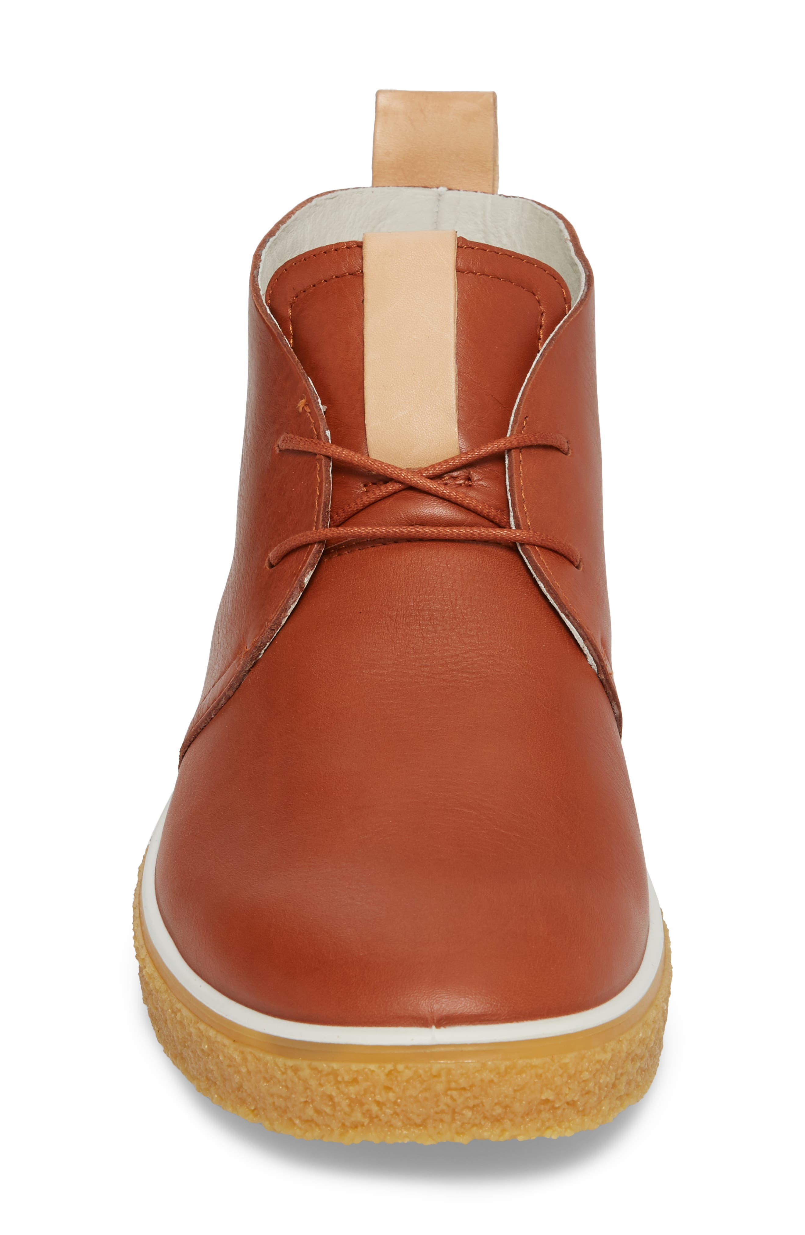 Crepetray Chukka Boot,                             Alternate thumbnail 4, color,                             Brandy Leather