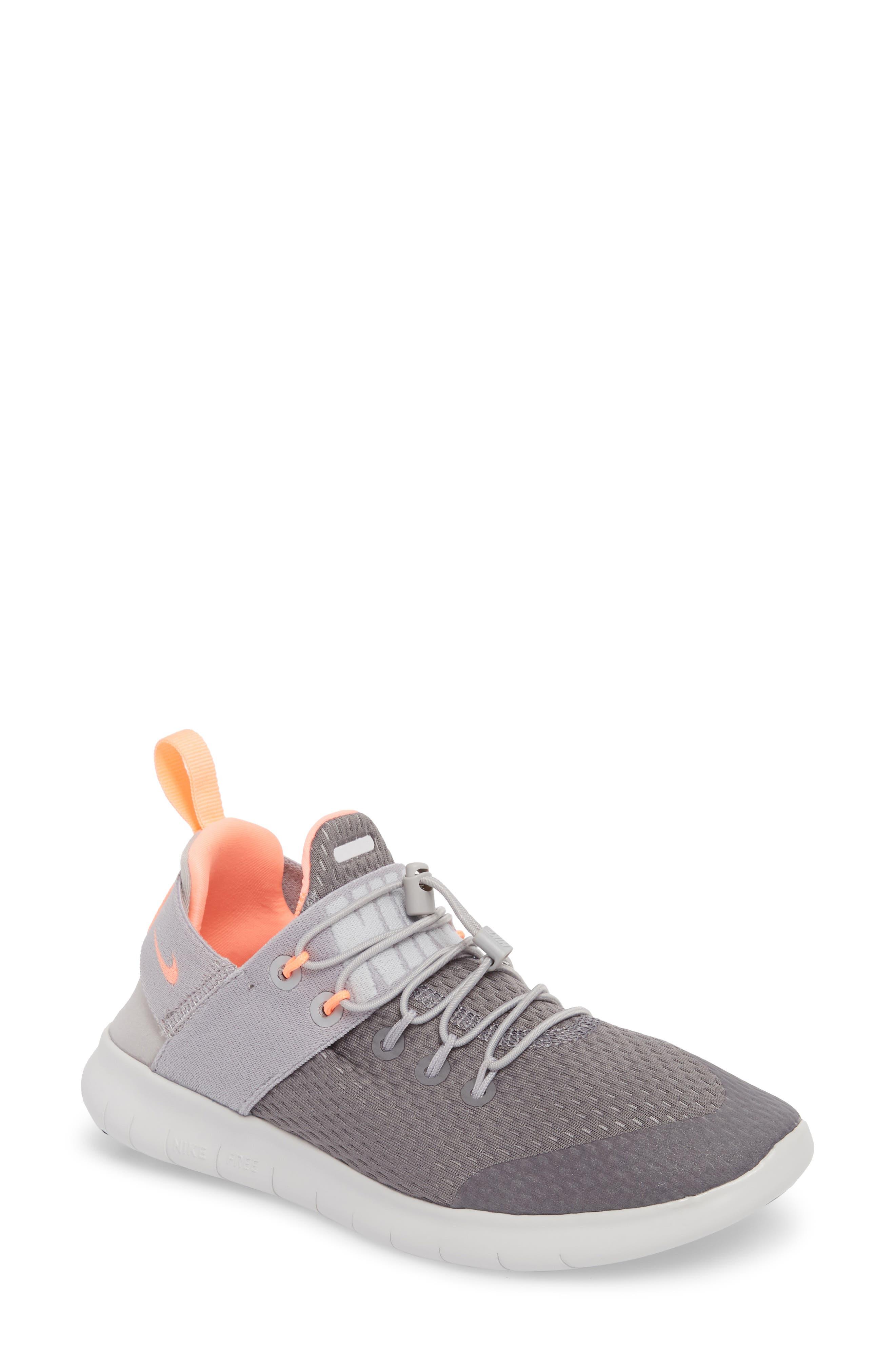 Free RN CMTR Running Shoe,                         Main,                         color, Gunsmoke/ Crimson Pulse