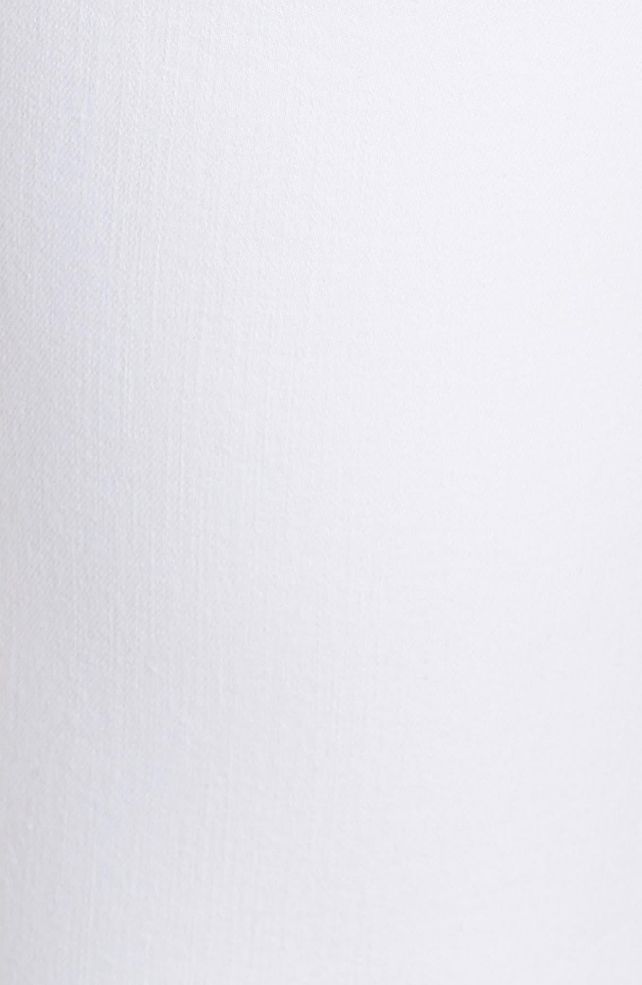 Ava Skinny White Jeans,                             Alternate thumbnail 6, color,                             Clean White