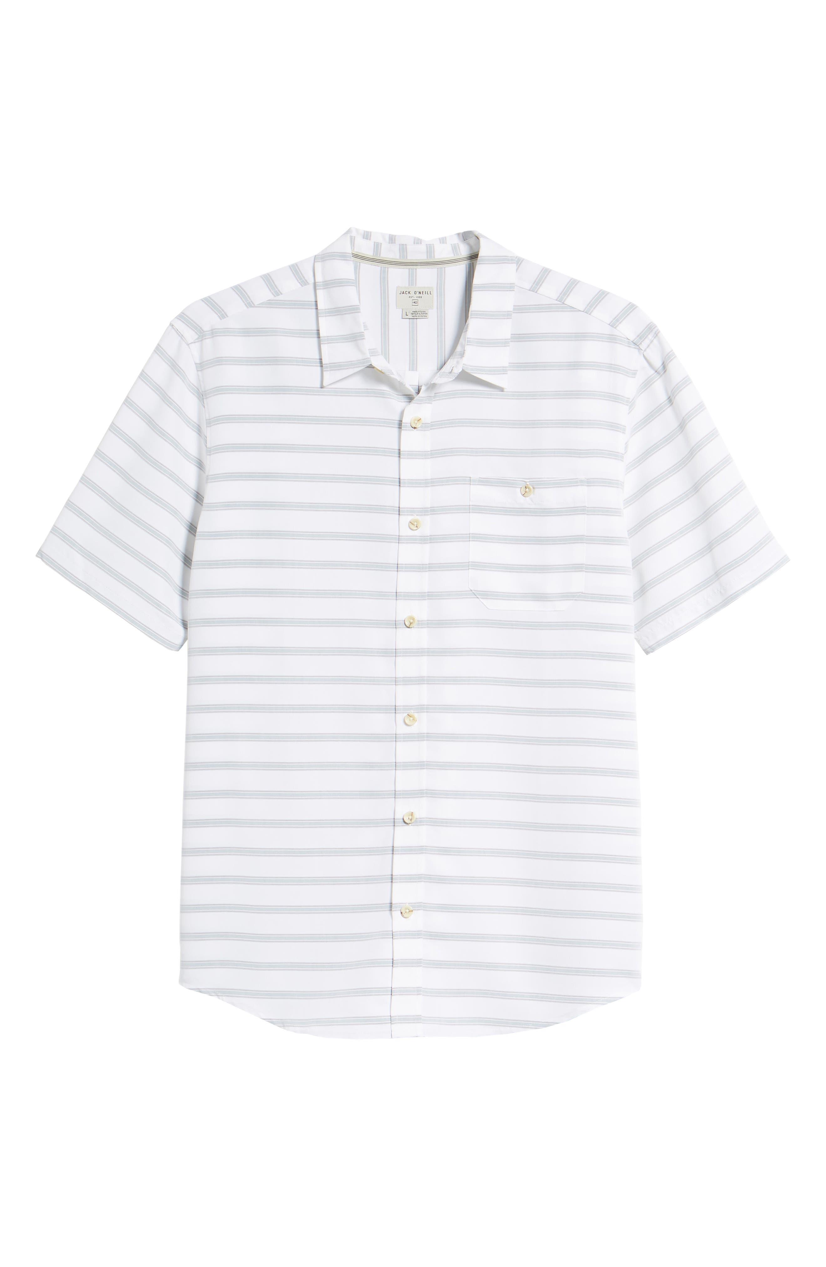 Slow Ride Sport Shirt,                             Alternate thumbnail 6, color,                             White