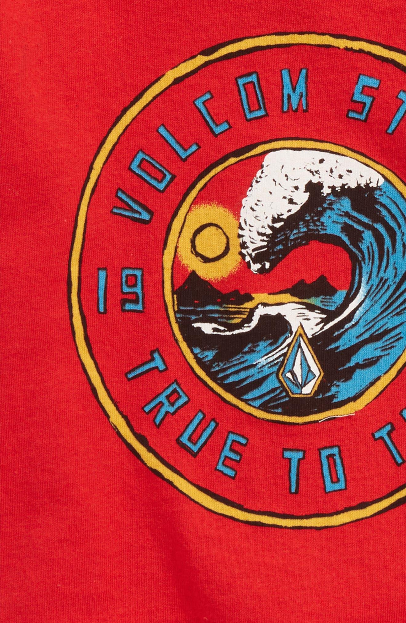 Furnish T-Shirt,                             Alternate thumbnail 2, color,                             Red