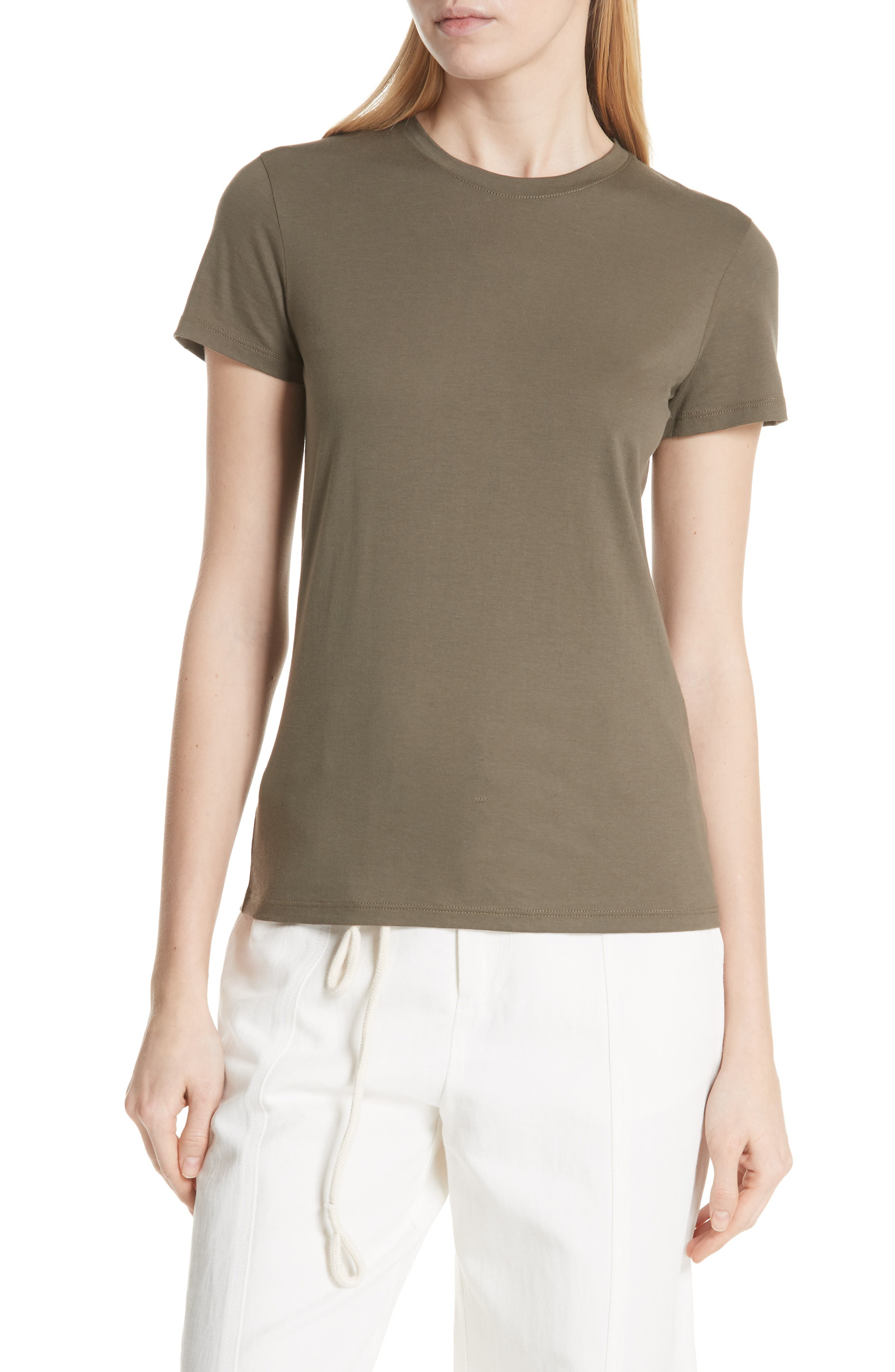 Vince Essential Pima Cotton Tee