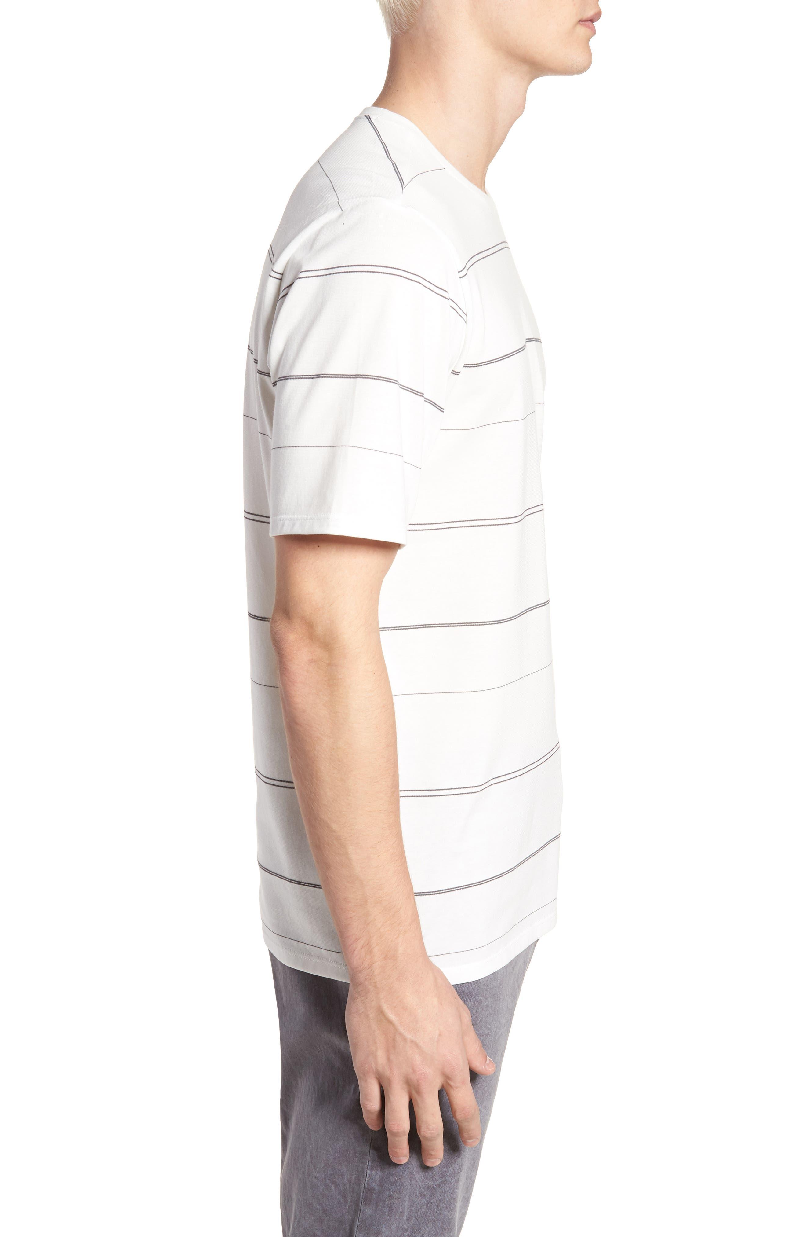 Dri-FIT New Wave T-Shirt,                             Alternate thumbnail 3, color,                             Summit White