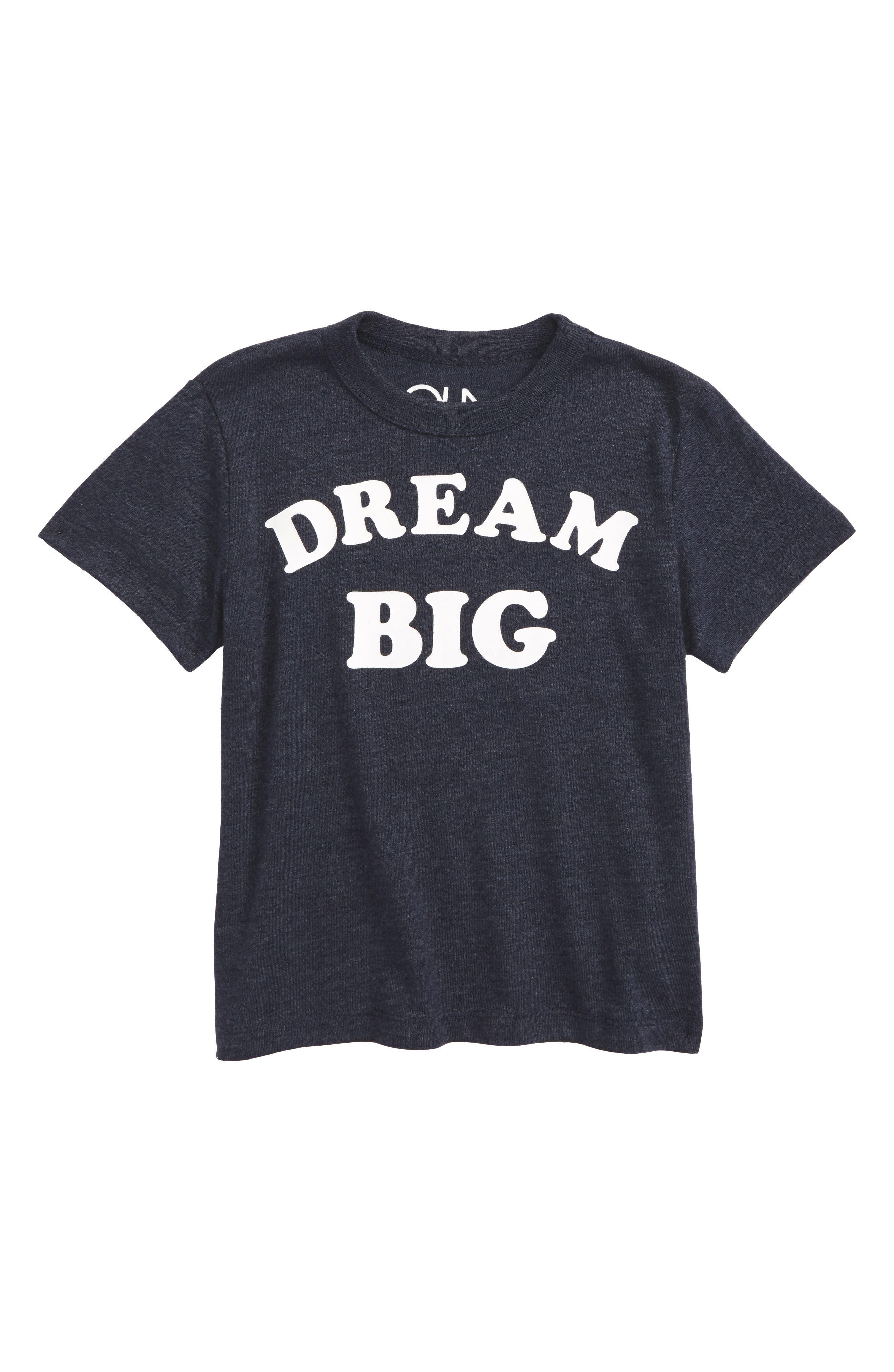 Dream Big T-Shirt,                             Main thumbnail 1, color,                             Avalon