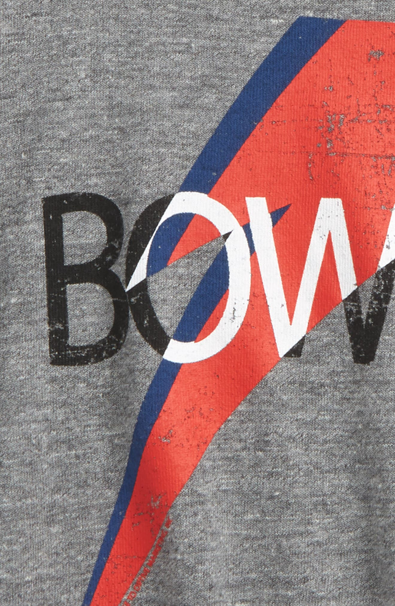 Bowie Bolt T-Shirt,                             Alternate thumbnail 2, color,                             Streaky Gray