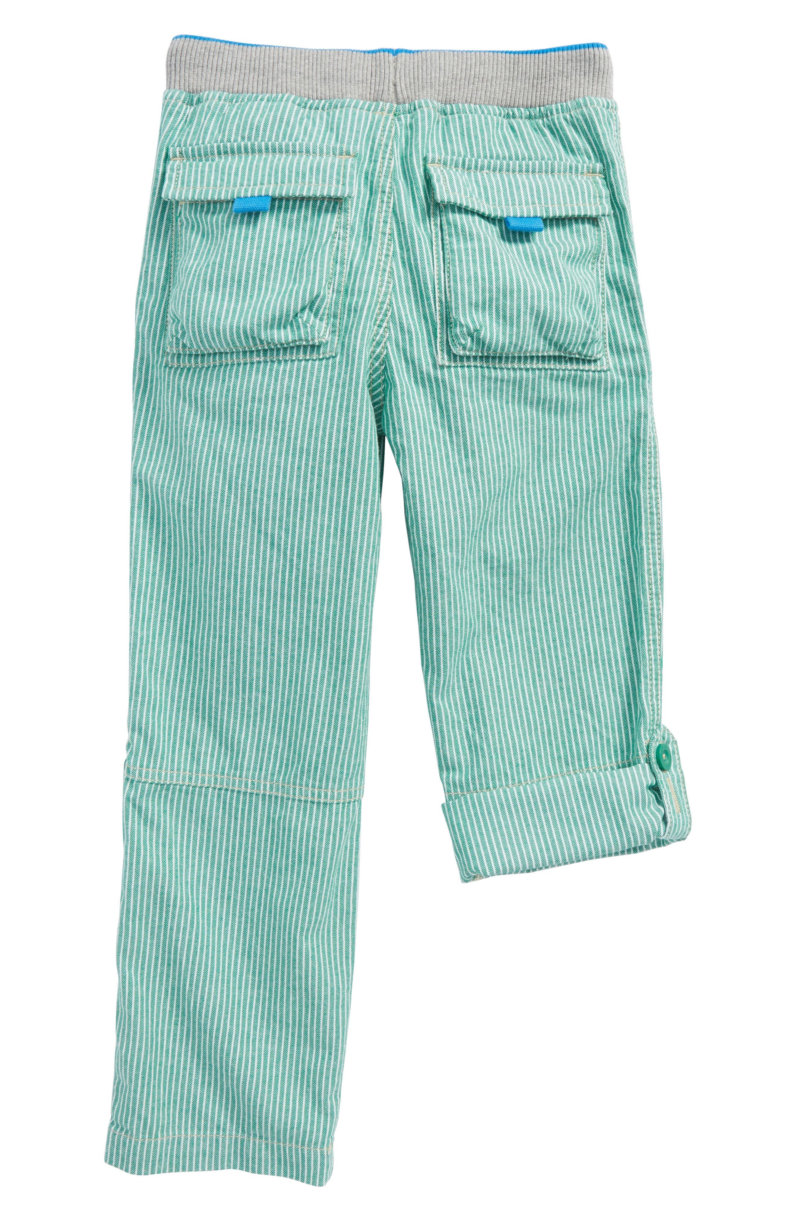 Surf Roll-Up Pants,                             Alternate thumbnail 2, color,                             Moringa Green/ Ecru