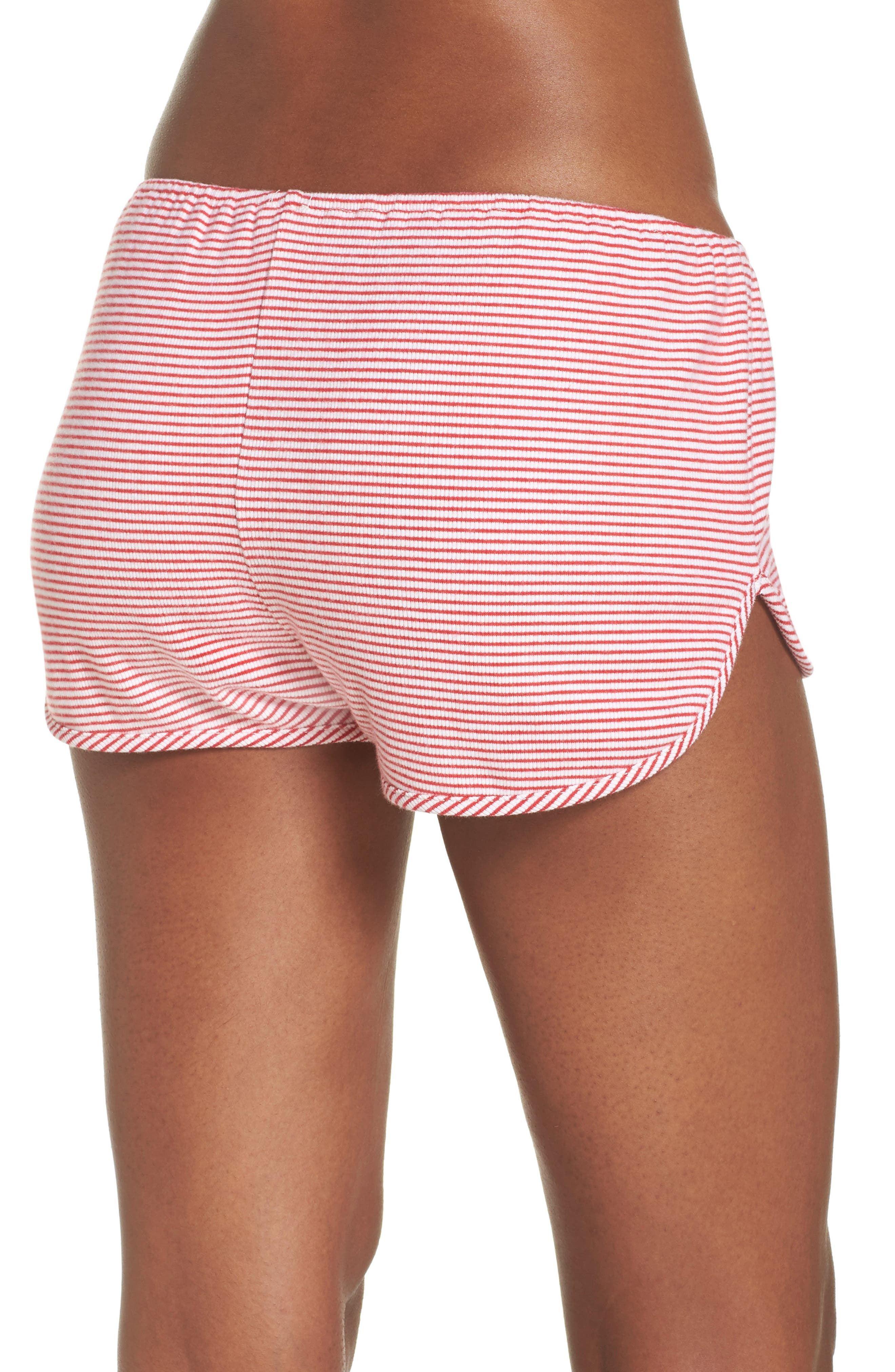 Penny Shorts,                             Alternate thumbnail 2, color,                             Red Stripe