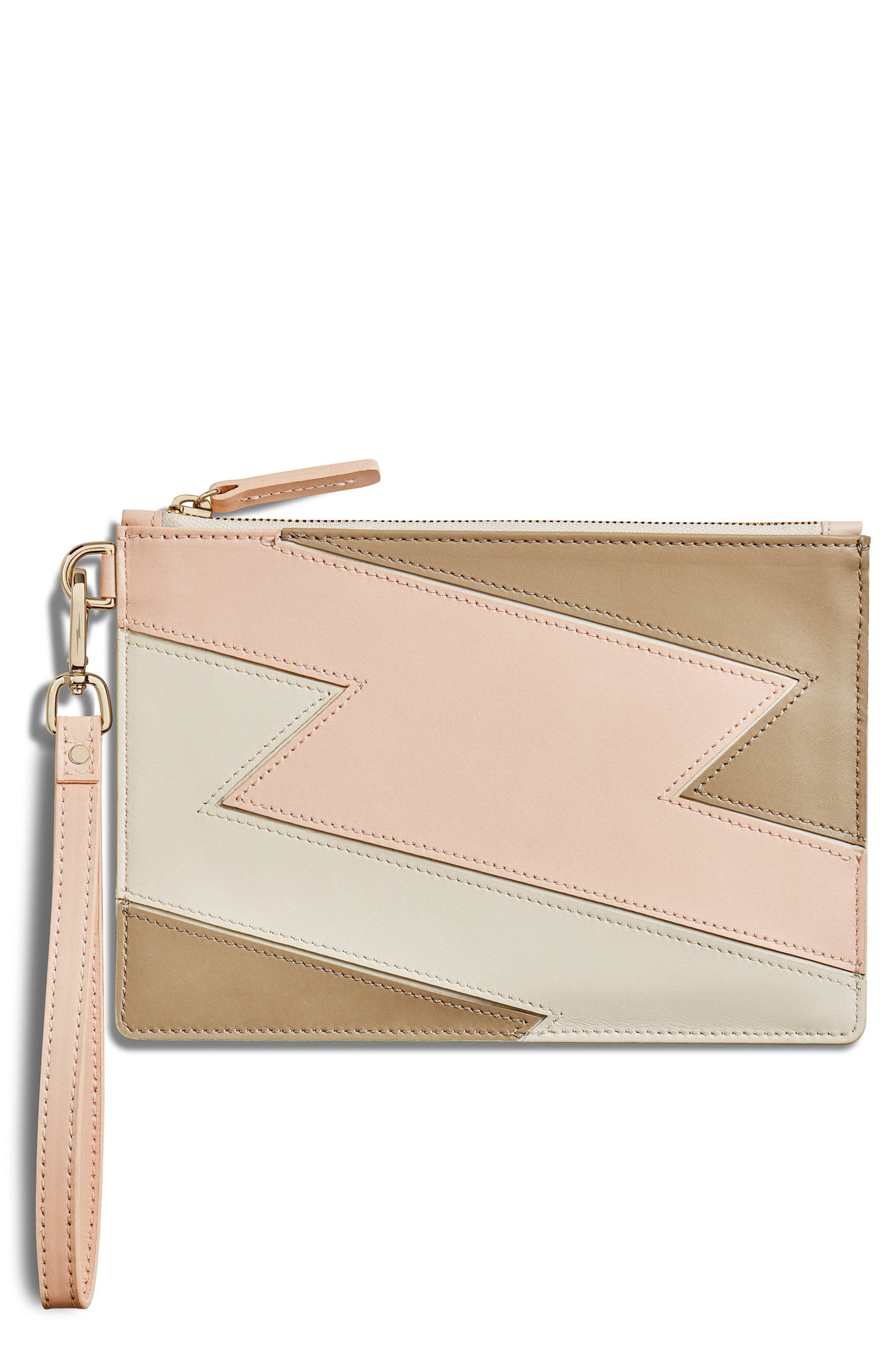 Shinola Bolt Nappa Leather Wristlet