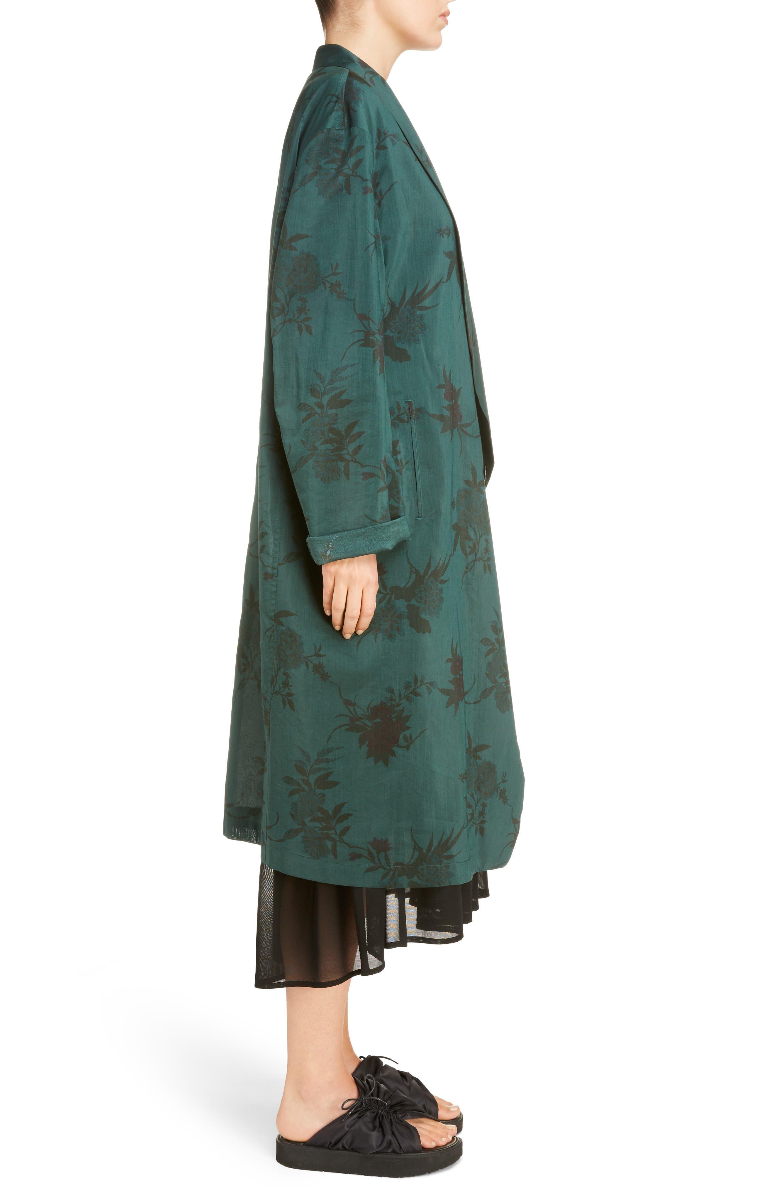 Alternate Image 3  - Y's by Yohji Yamamoto Floral Coat