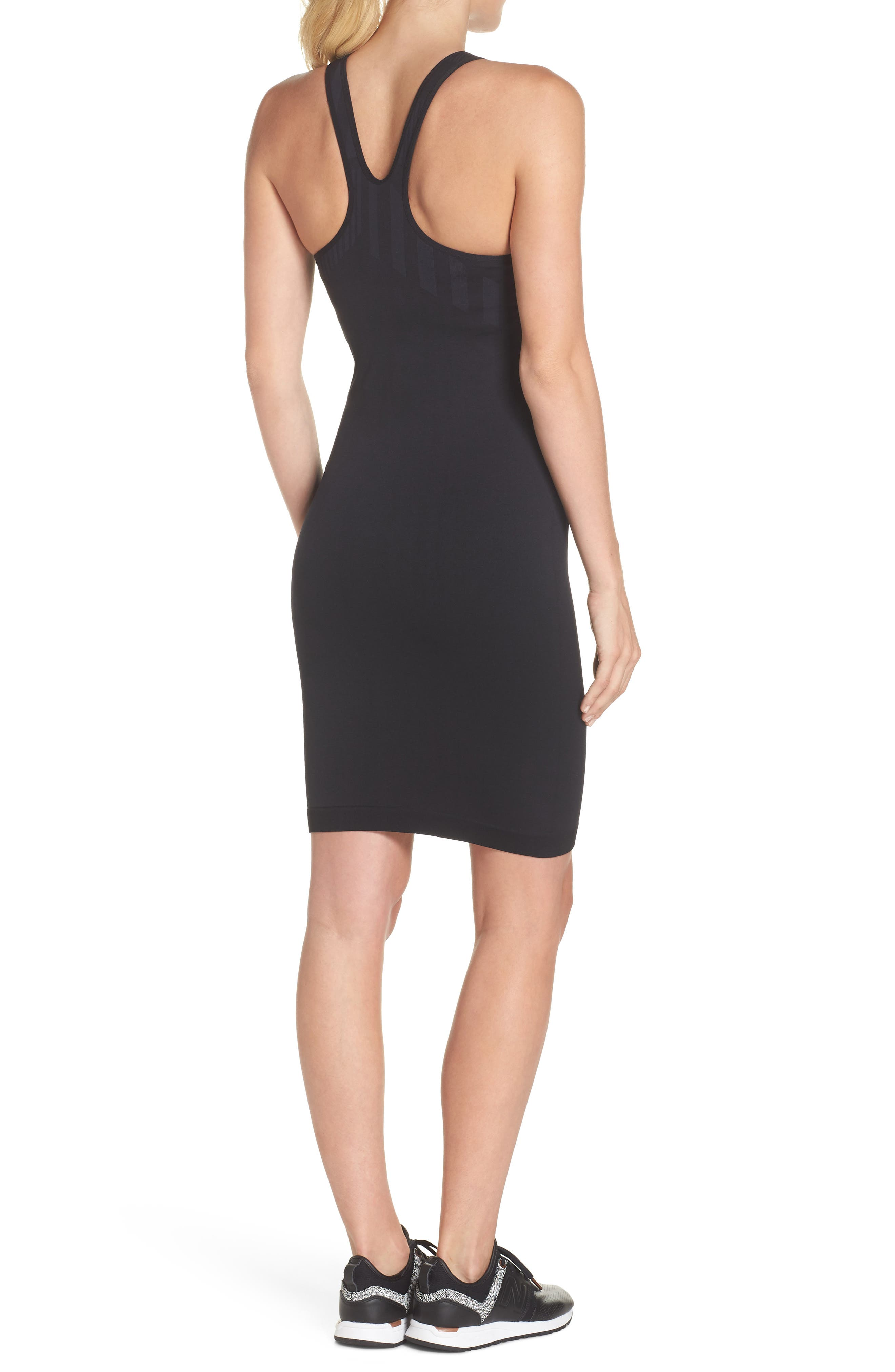 Spectrum Dress,                             Alternate thumbnail 2, color,                             Black