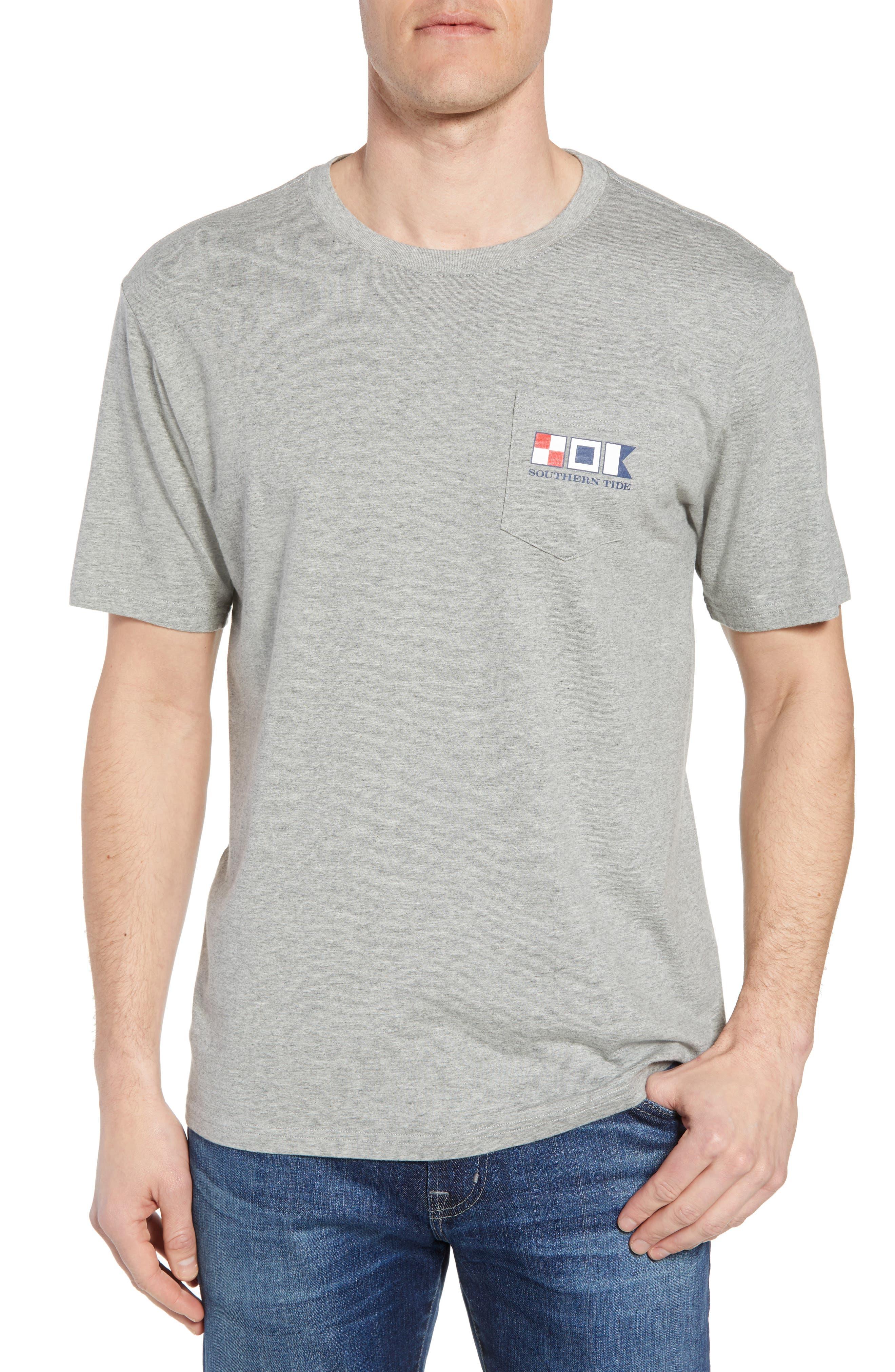 We the People Regular Fit T-Shirt,                             Main thumbnail 1, color,                             Grey