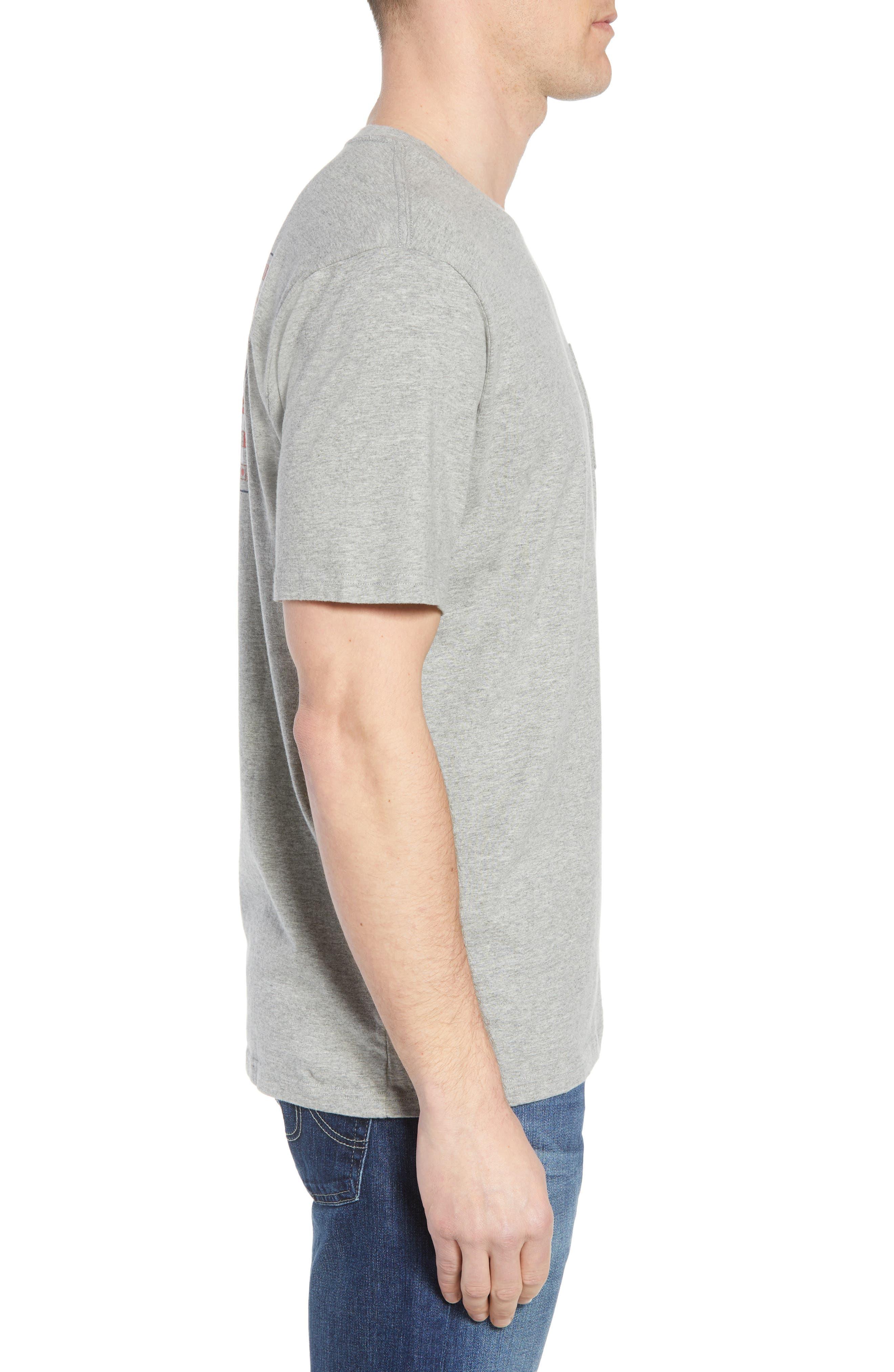 We the People Regular Fit T-Shirt,                             Alternate thumbnail 3, color,                             Grey