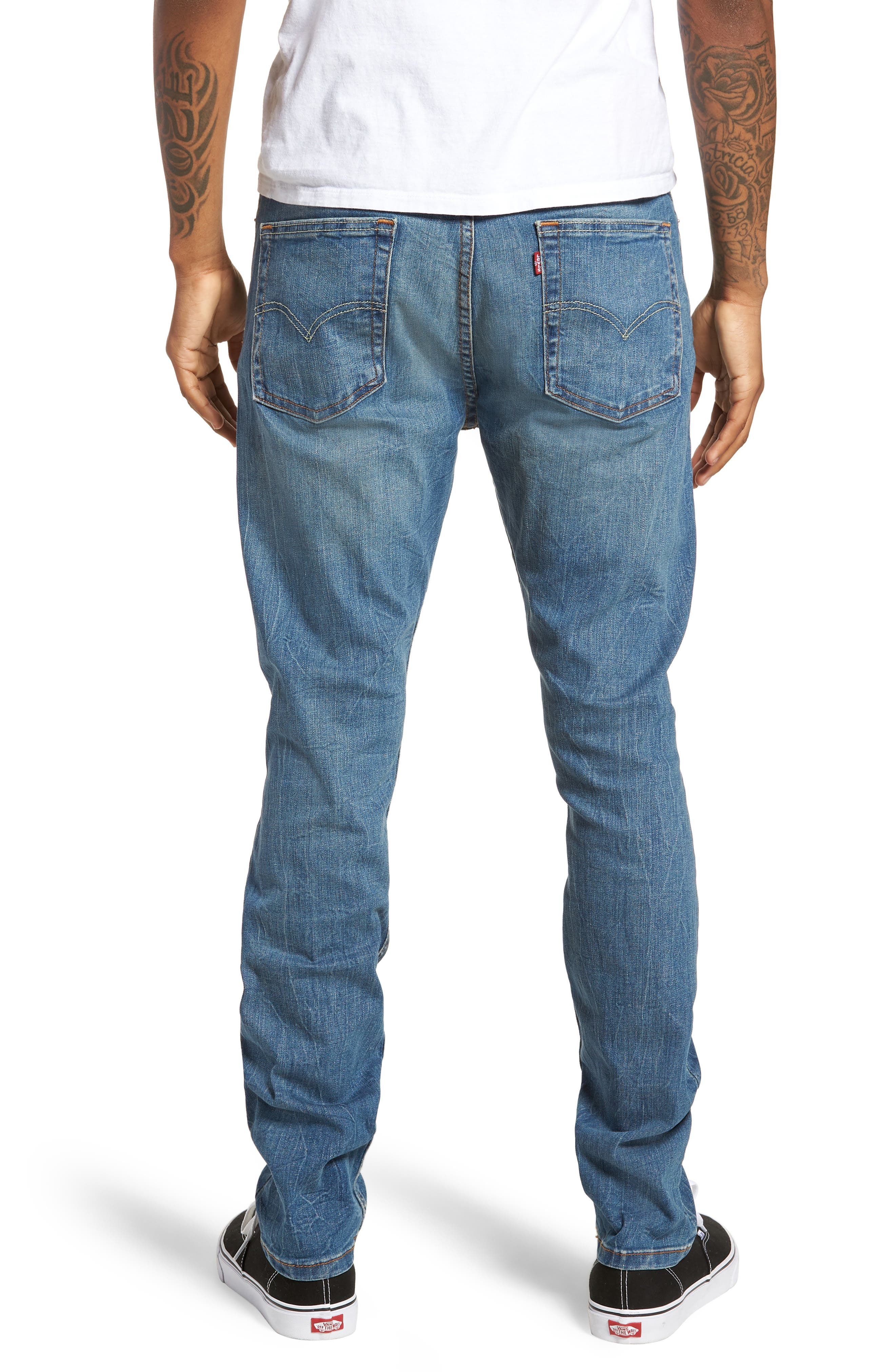 510<sup>™</sup> Skinny Fit Jeans,                             Alternate thumbnail 2, color,                             Lake Anza