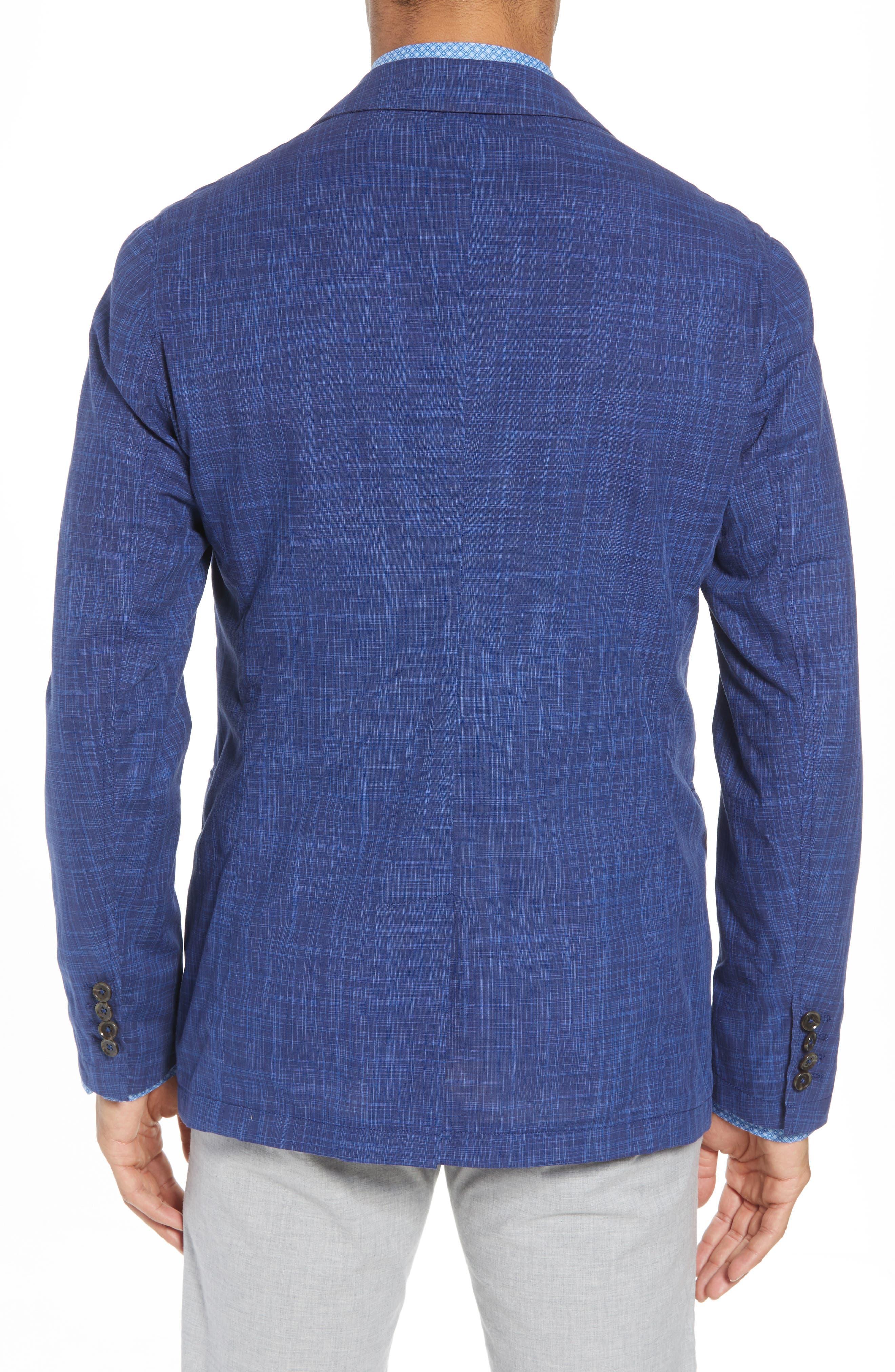 Belmont Regular Fit Sport Coat,                             Alternate thumbnail 2, color,                             Blue