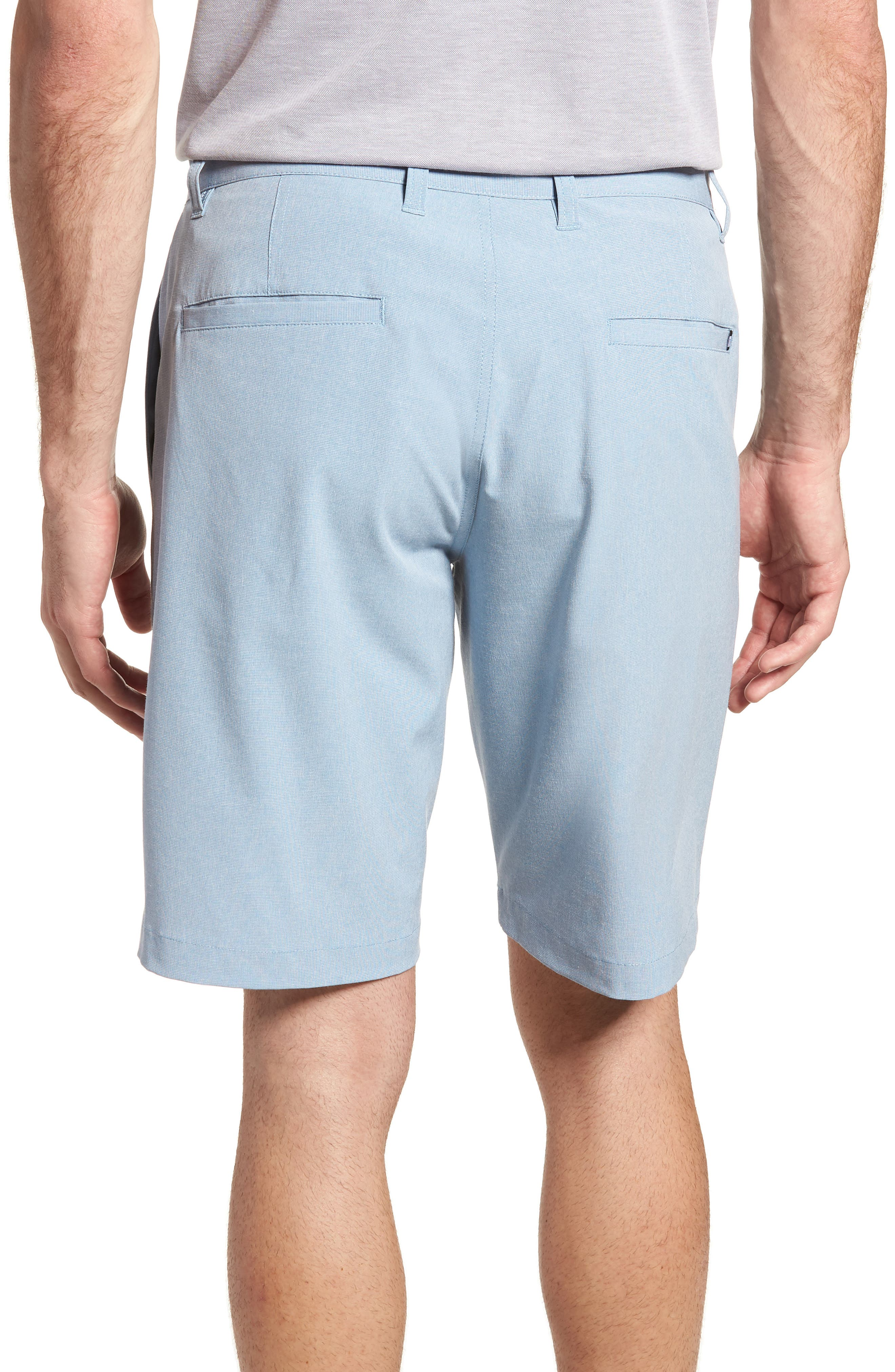 Beck Stretch Performance Shorts,                             Alternate thumbnail 2, color,                             Blue
