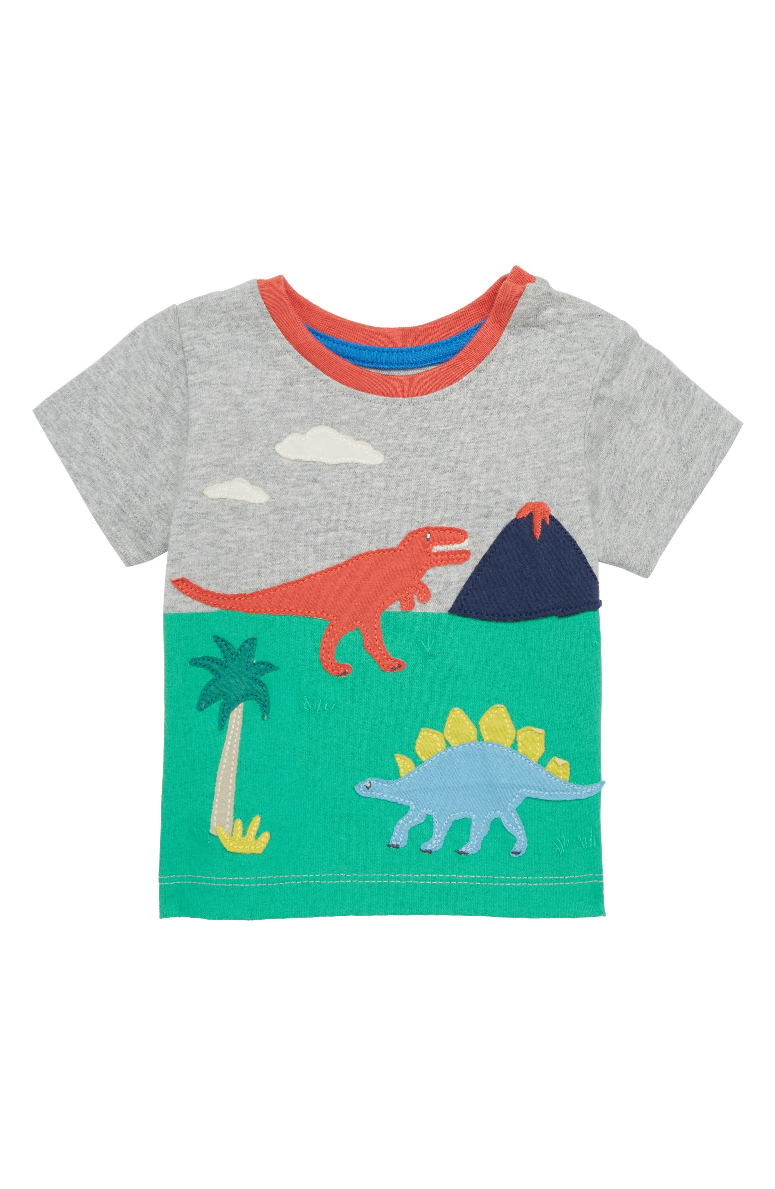 Animal Explorer T-Shirt,                         Main,                         color, Grey Marl