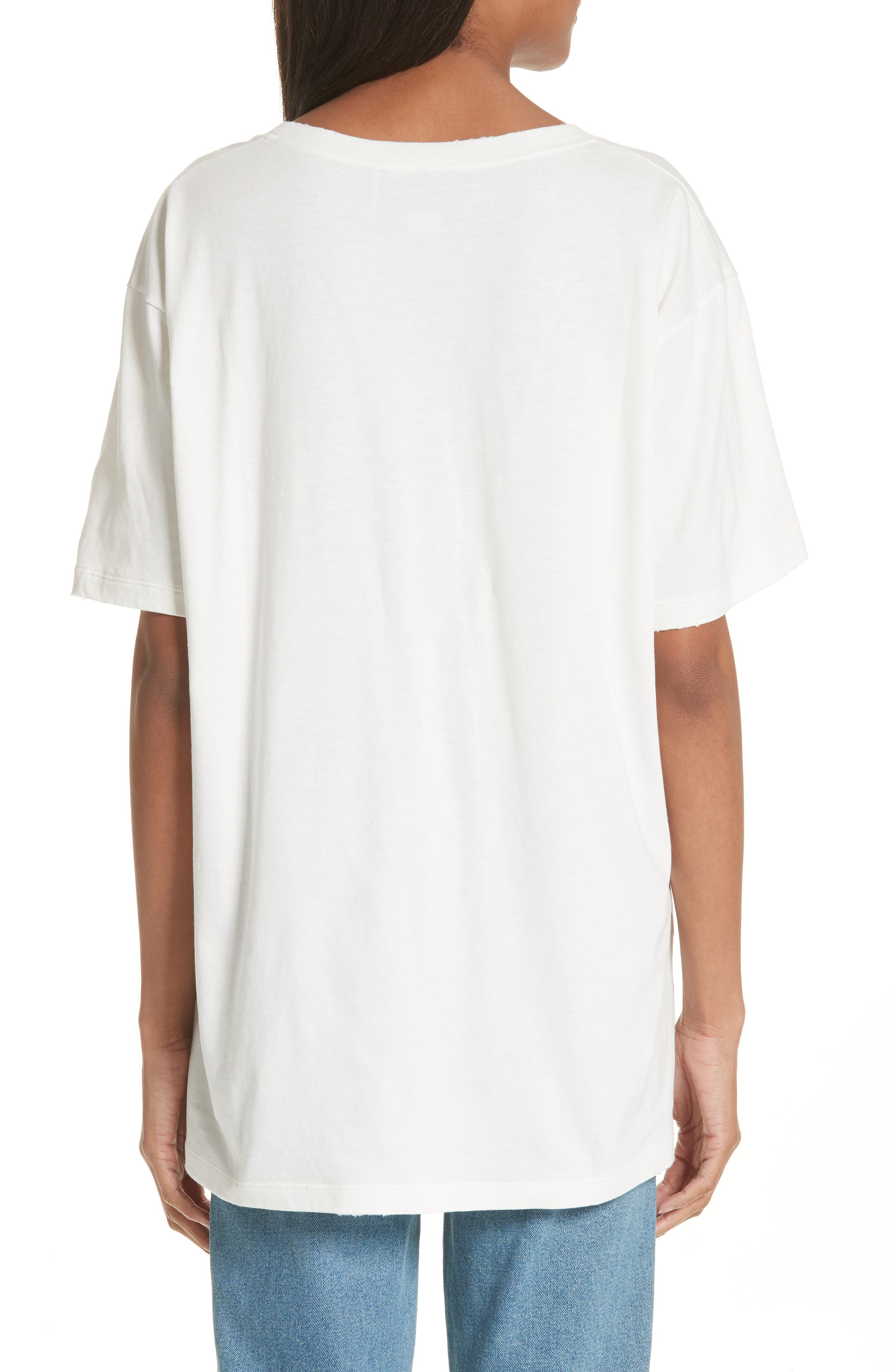 Amore Graphic Tee,                             Alternate thumbnail 2, color,                             Ivory Black