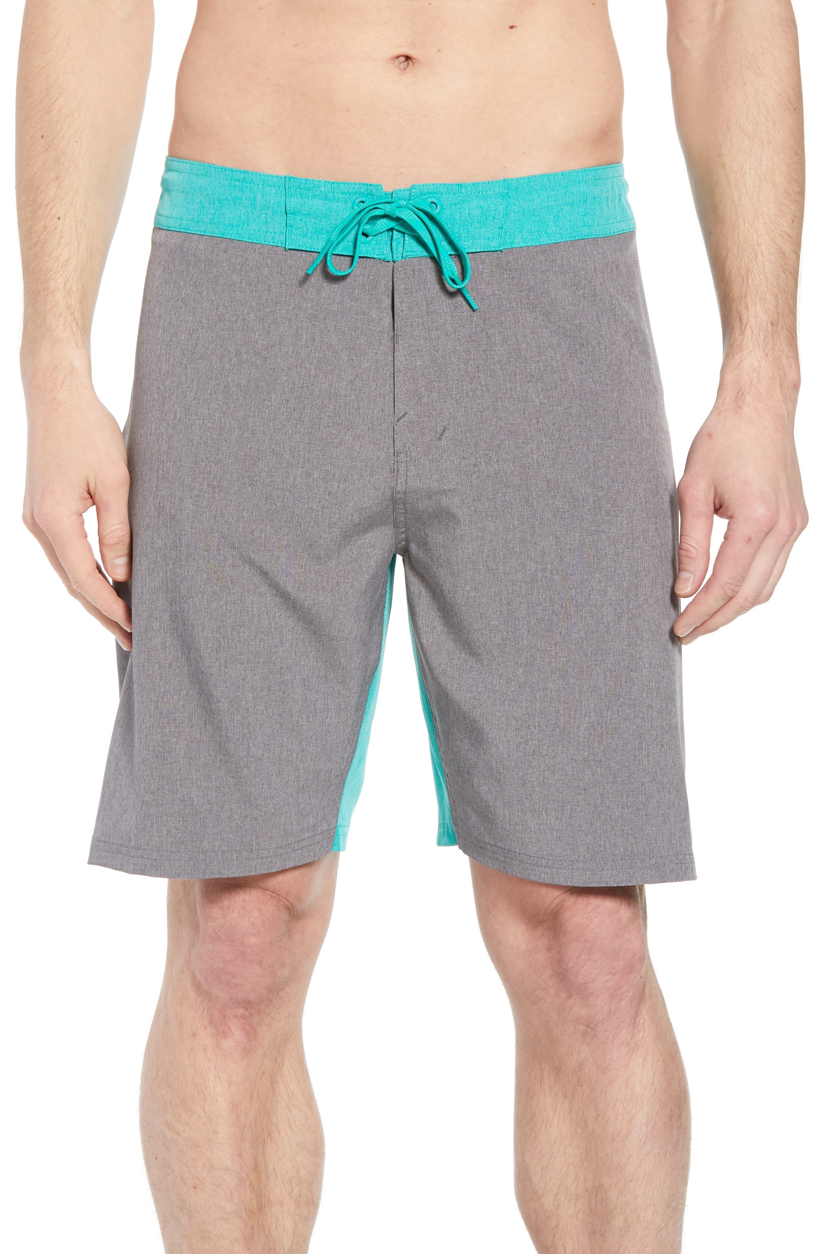 Vortex Board Shorts,                             Main thumbnail 1, color,                             Gunsmoke