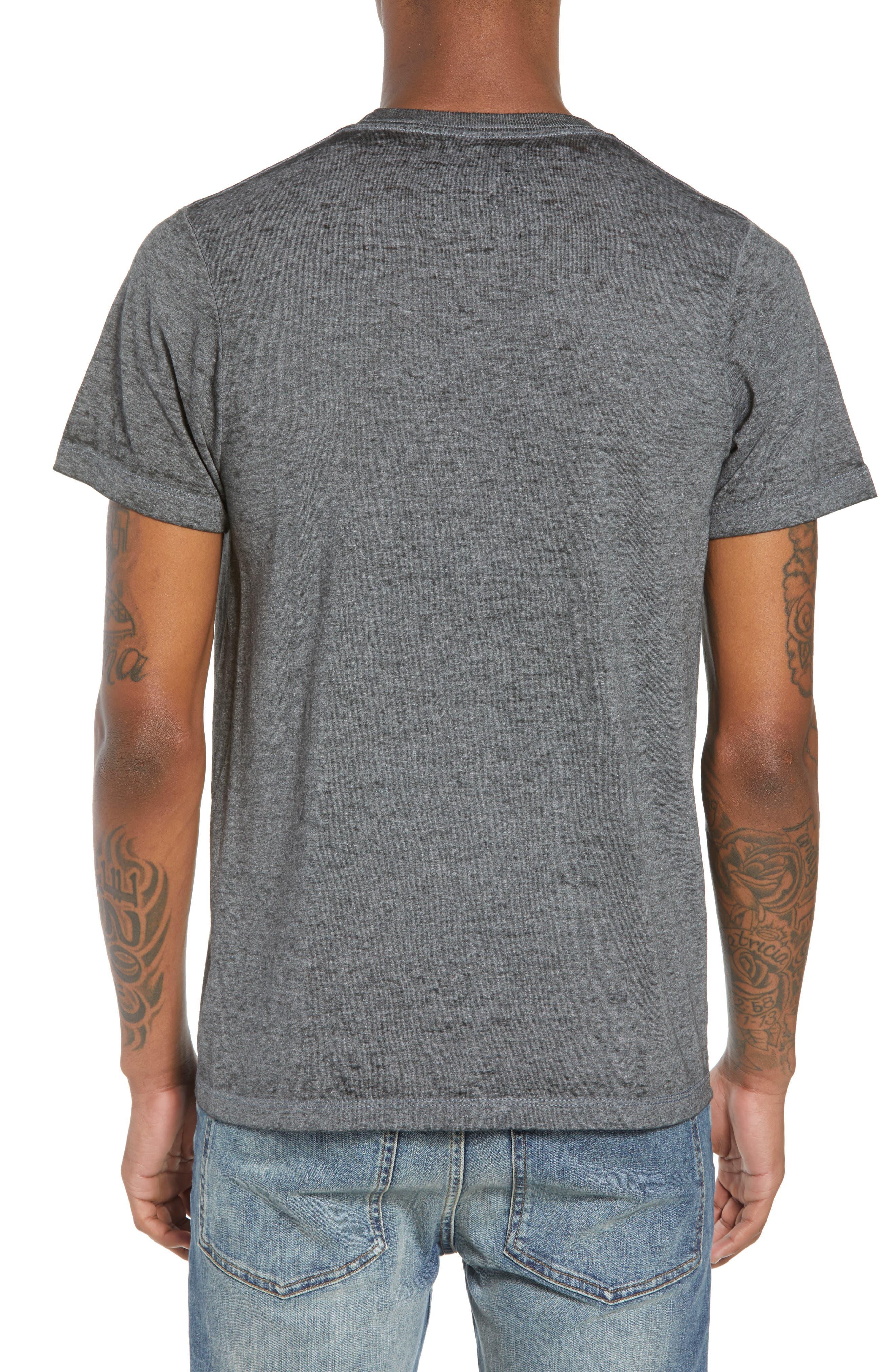 CBGB T-Shirt,                             Alternate thumbnail 2, color,                             Grey Cbgb Burnout