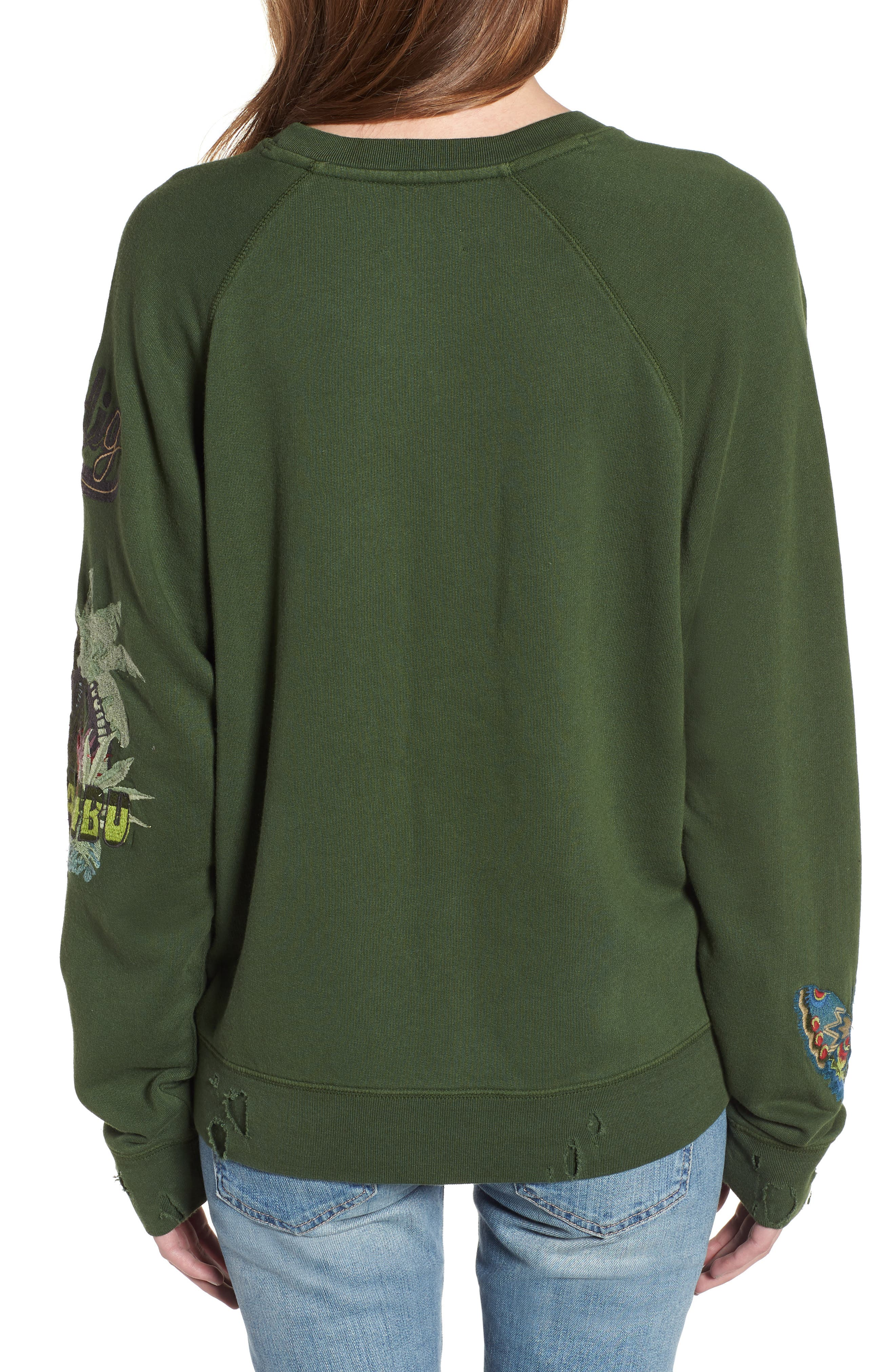 Upper Bis Brode Sweatshirt,                             Alternate thumbnail 2, color,                             Tropical