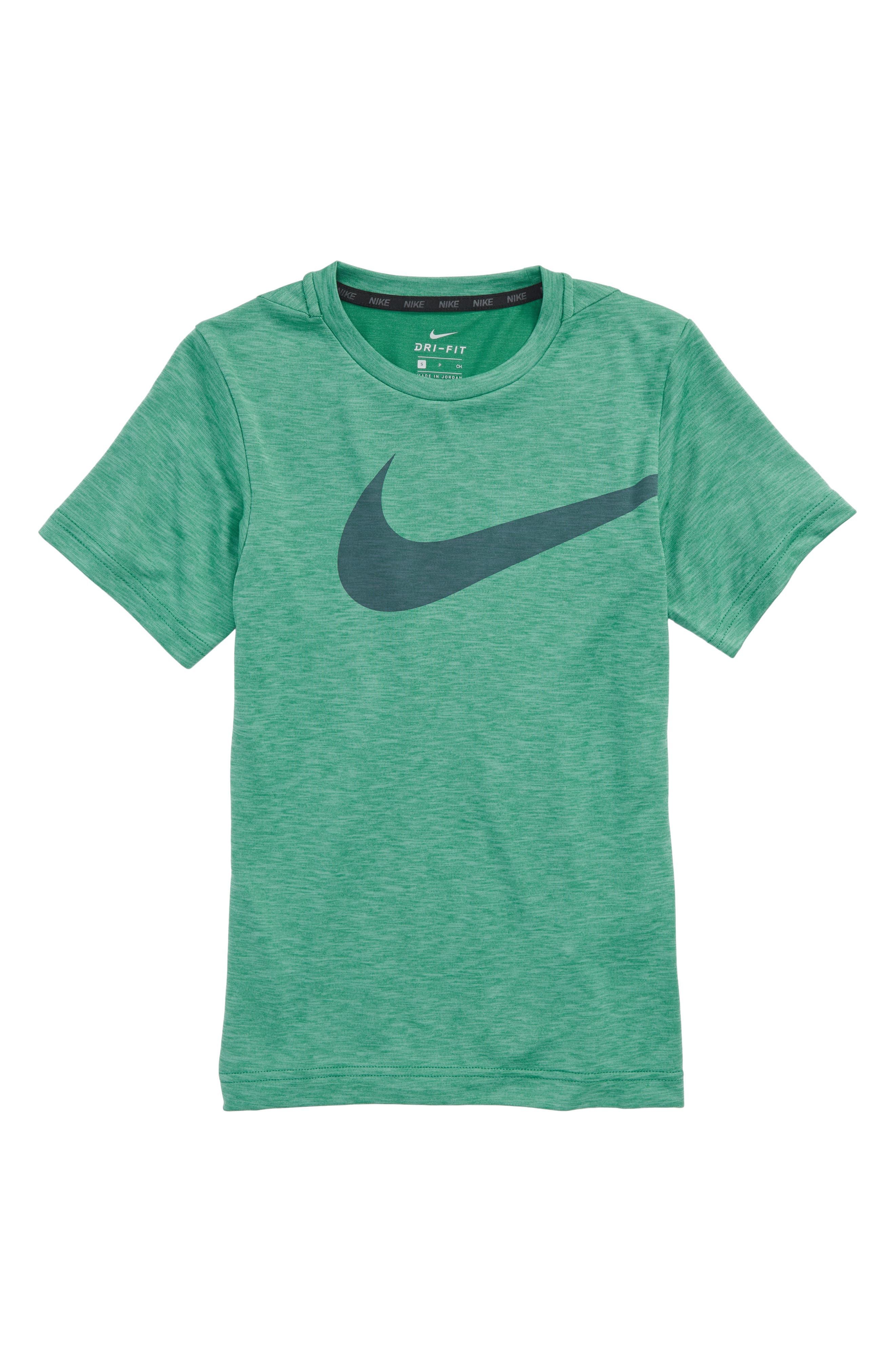 Breathe Dri-FIT T-Shirt,                             Main thumbnail 1, color,                             Kinetic Green/ Green Noise