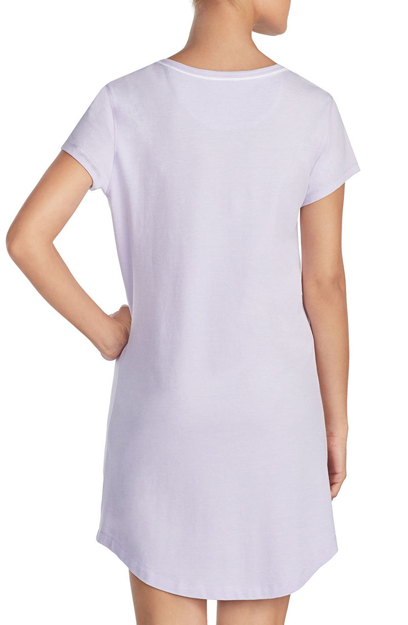 Nightgown,                             Alternate thumbnail 2, color,                             Lilac
