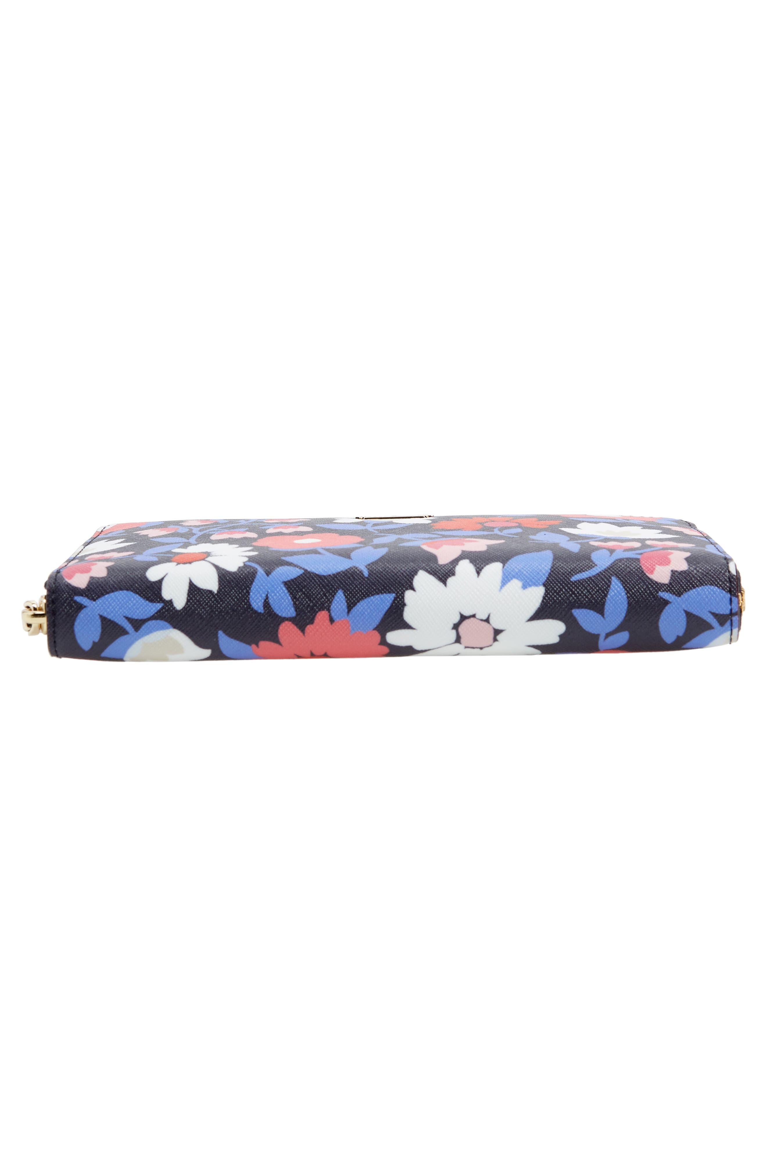cameron street - daisy lacey zip around wallet,                             Alternate thumbnail 6, color,                             Multi