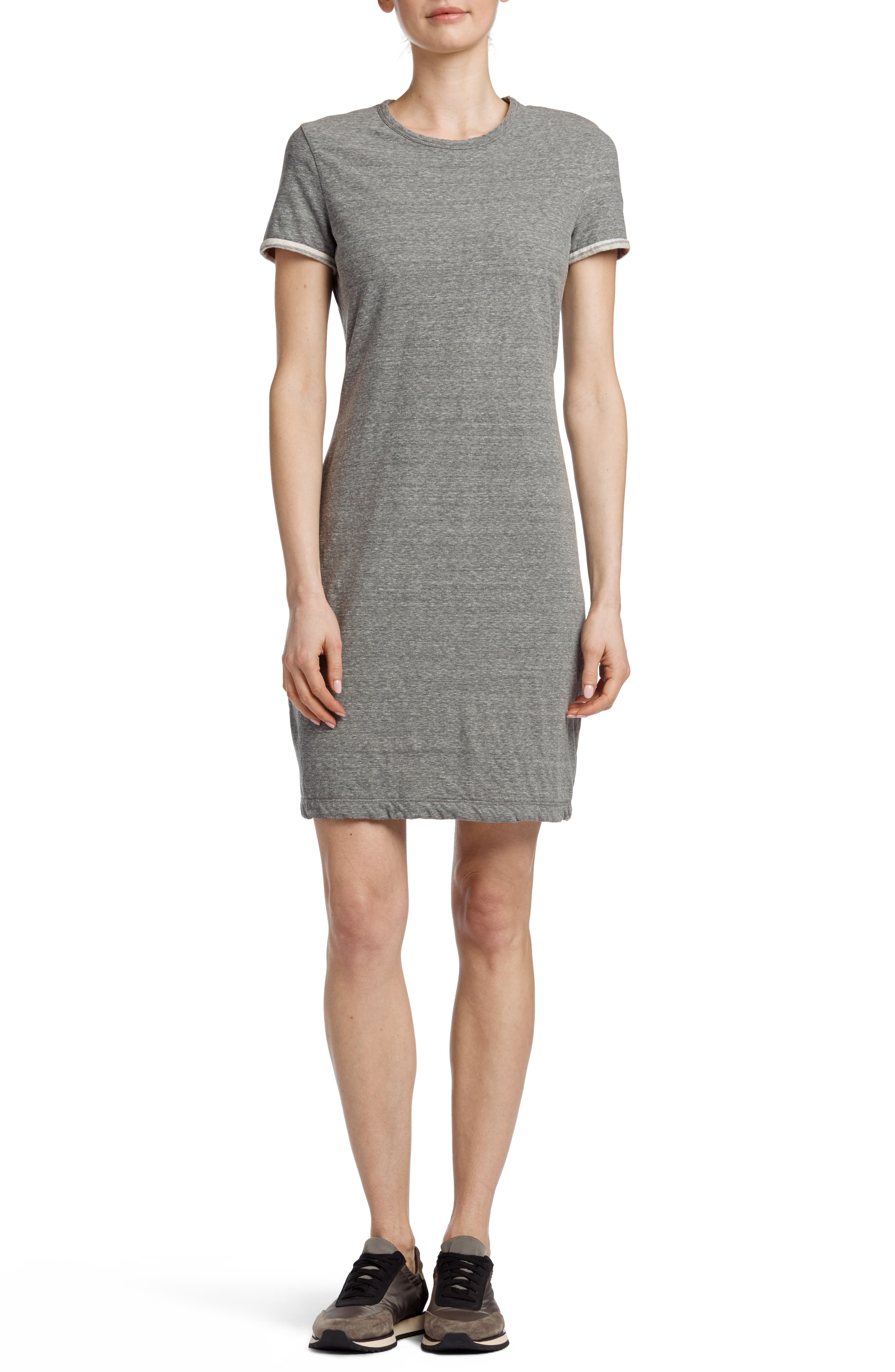 James Perse Vintage Cotton T-Shirt Dress